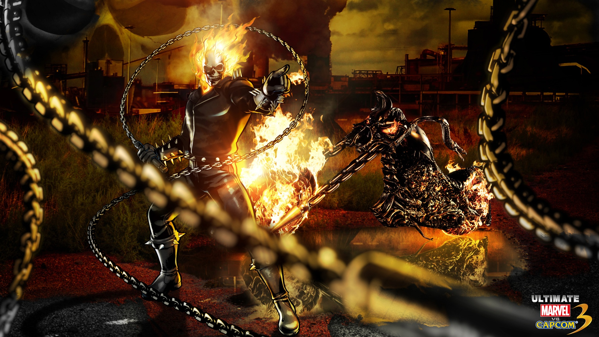 Ghost Rider Marvel Vs Capcom Wallpapers In Jpg Format For Free Download