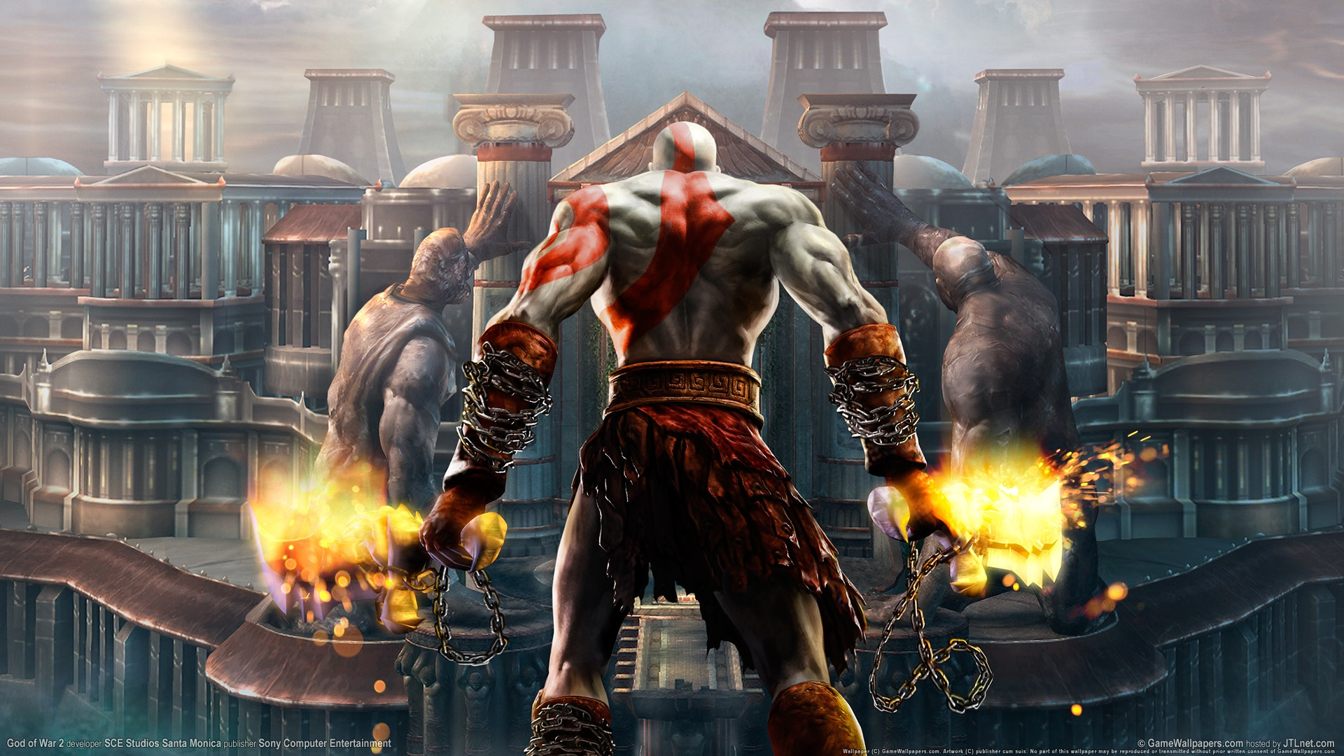 God Of War 2 Hd Wallpapers In Jpg Format For Free Download