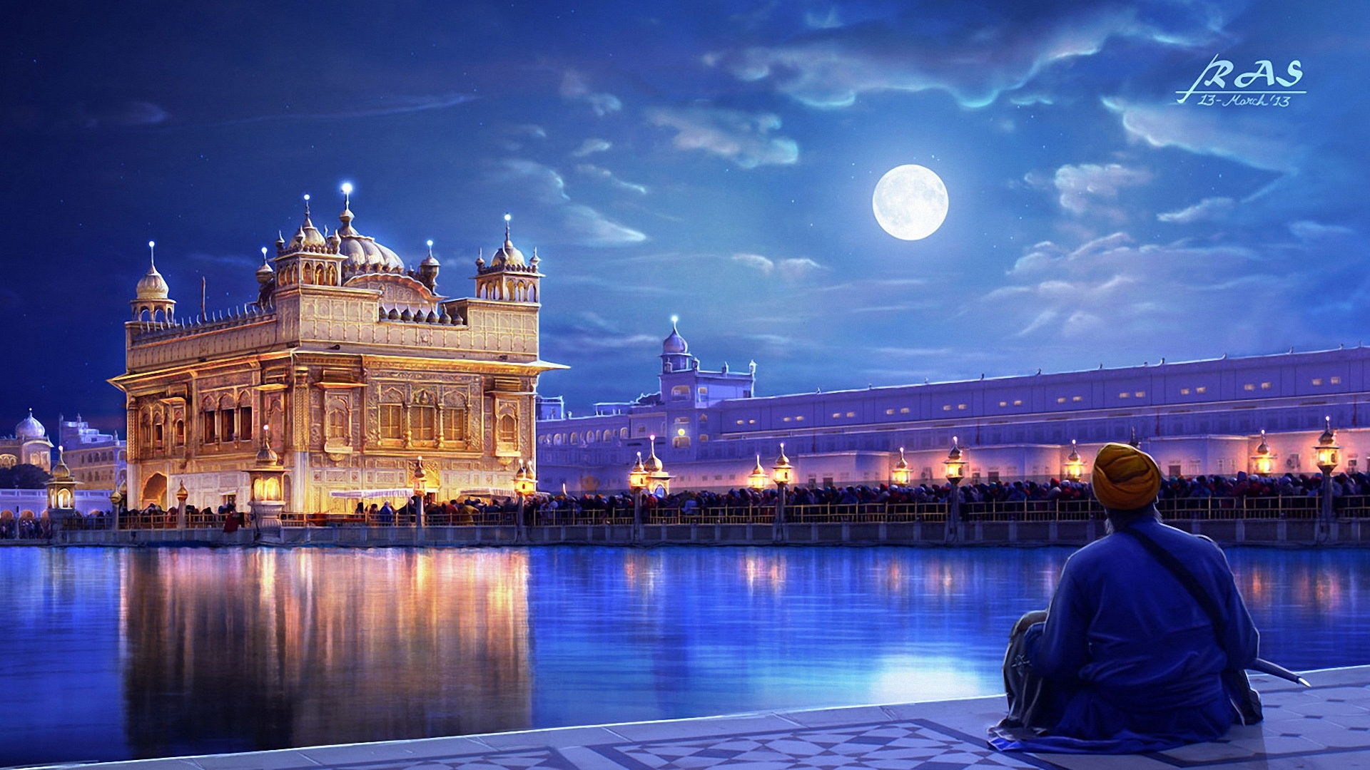 Golden Temple Amritsar Punjab India Wallpapers In Jpg Format For