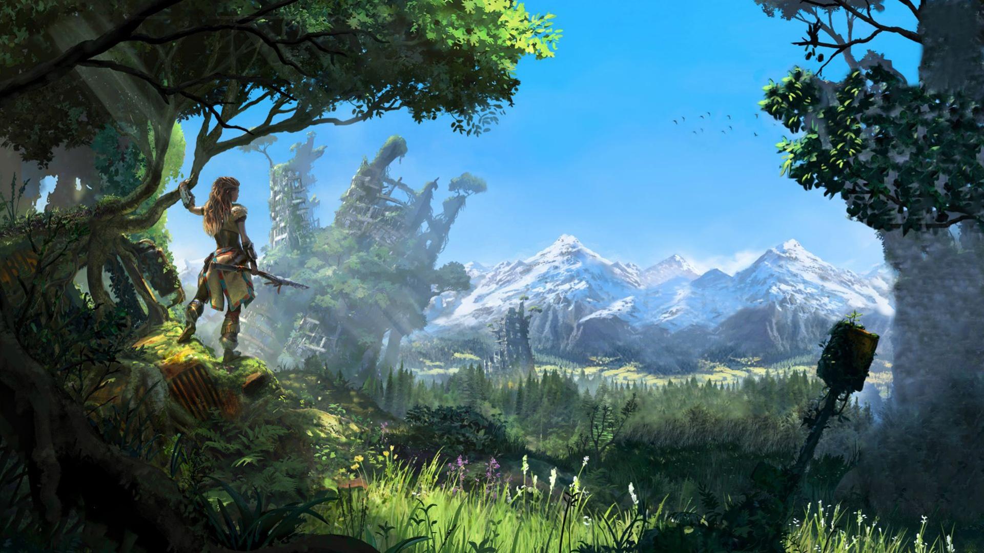 Horizon Zero Dawn 2016 Game Wallpapers In Jpg Format For Free Download