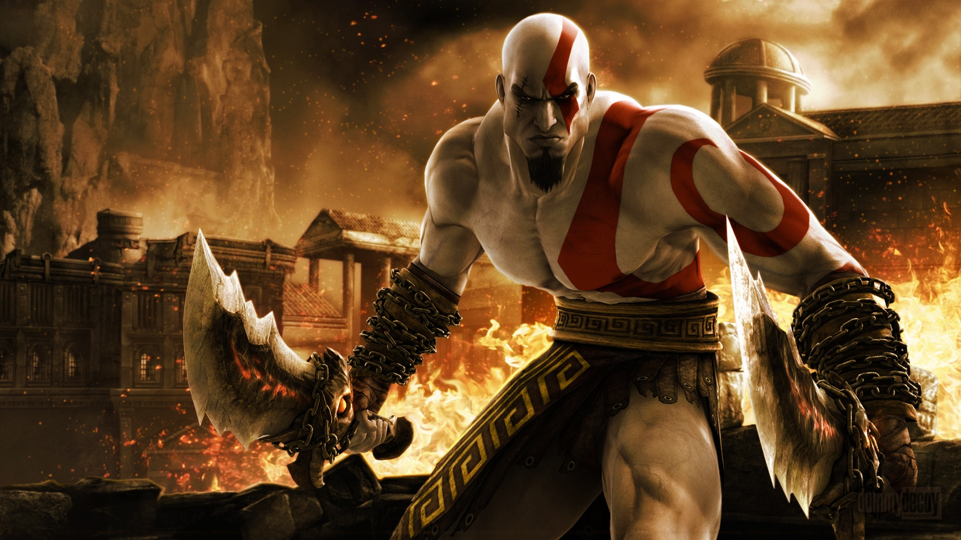 Kratos In God Of War Wallpapers In Jpg Format For Free Download