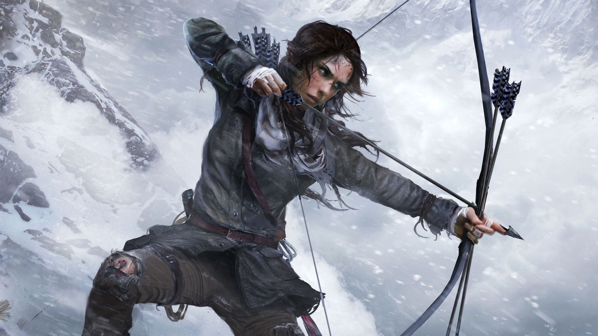 Lara Croft Rise Of The Tomb Raider Official Artwork Wallpapers In