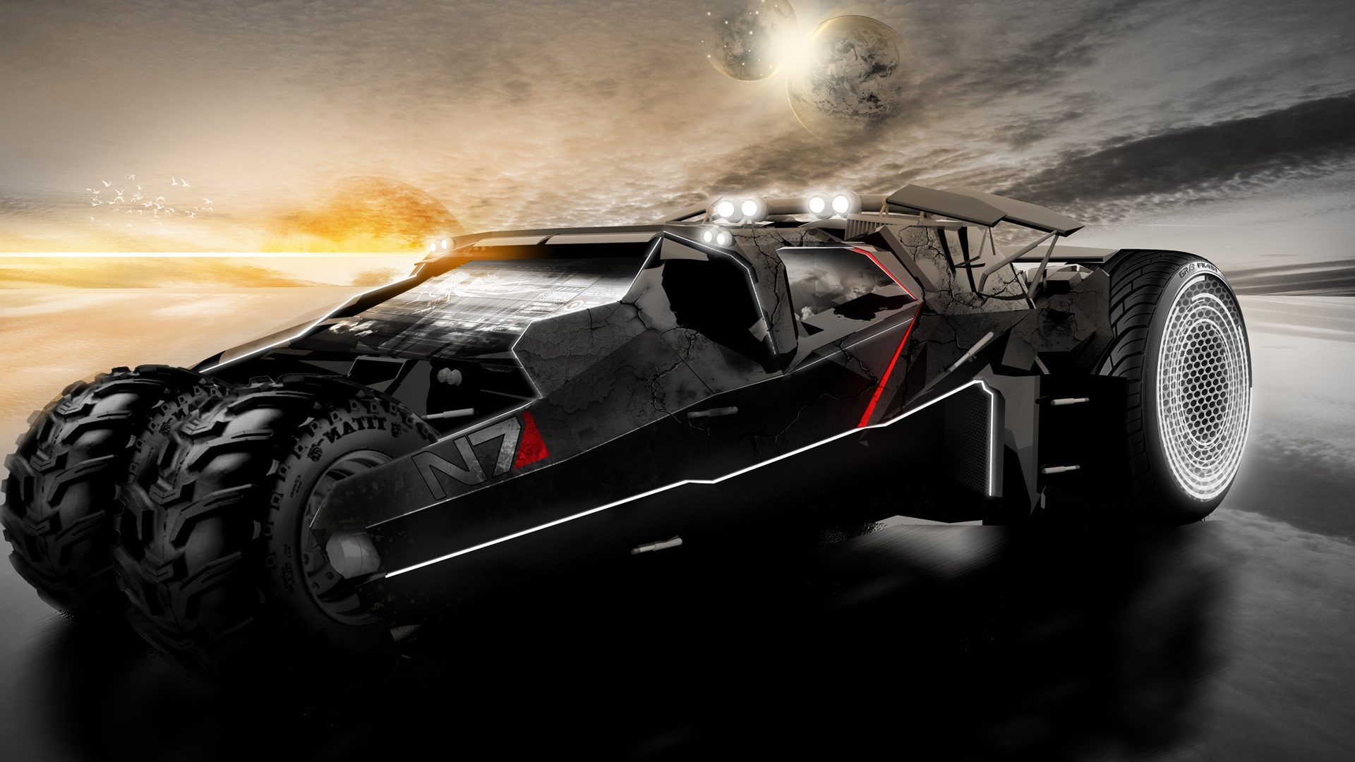 Mass Effect N7 Car Wallpapers In Jpg Format For Free Download