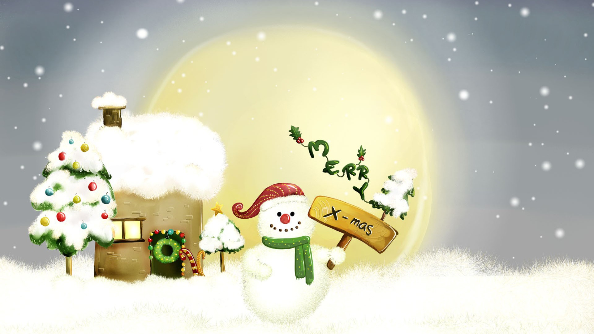 Merry Xmas Wallpaper Christmas Holidays Wallpapers in jpg format for ...