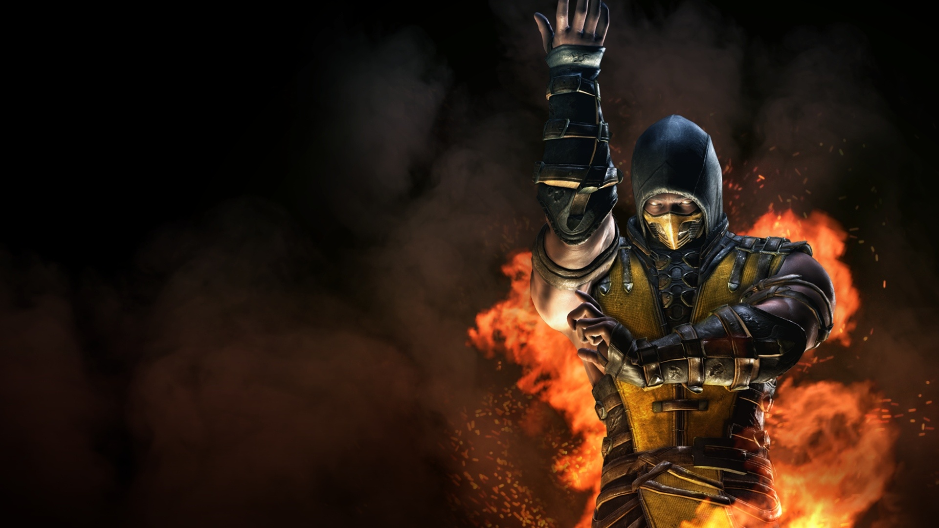 Mortal Kombat X Inferno Scorpion Wallpapers In Jpg Format For Free