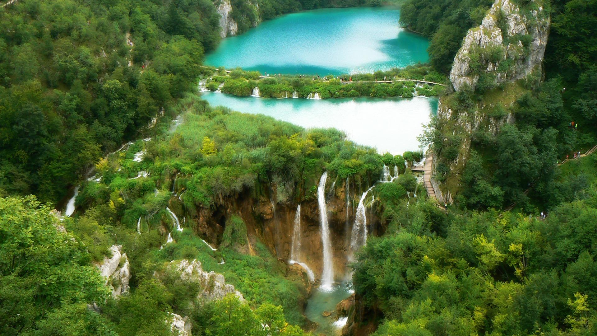 Wallpaper download pagalworld - Plitvice Waterfalls Wallpaper Croatia World