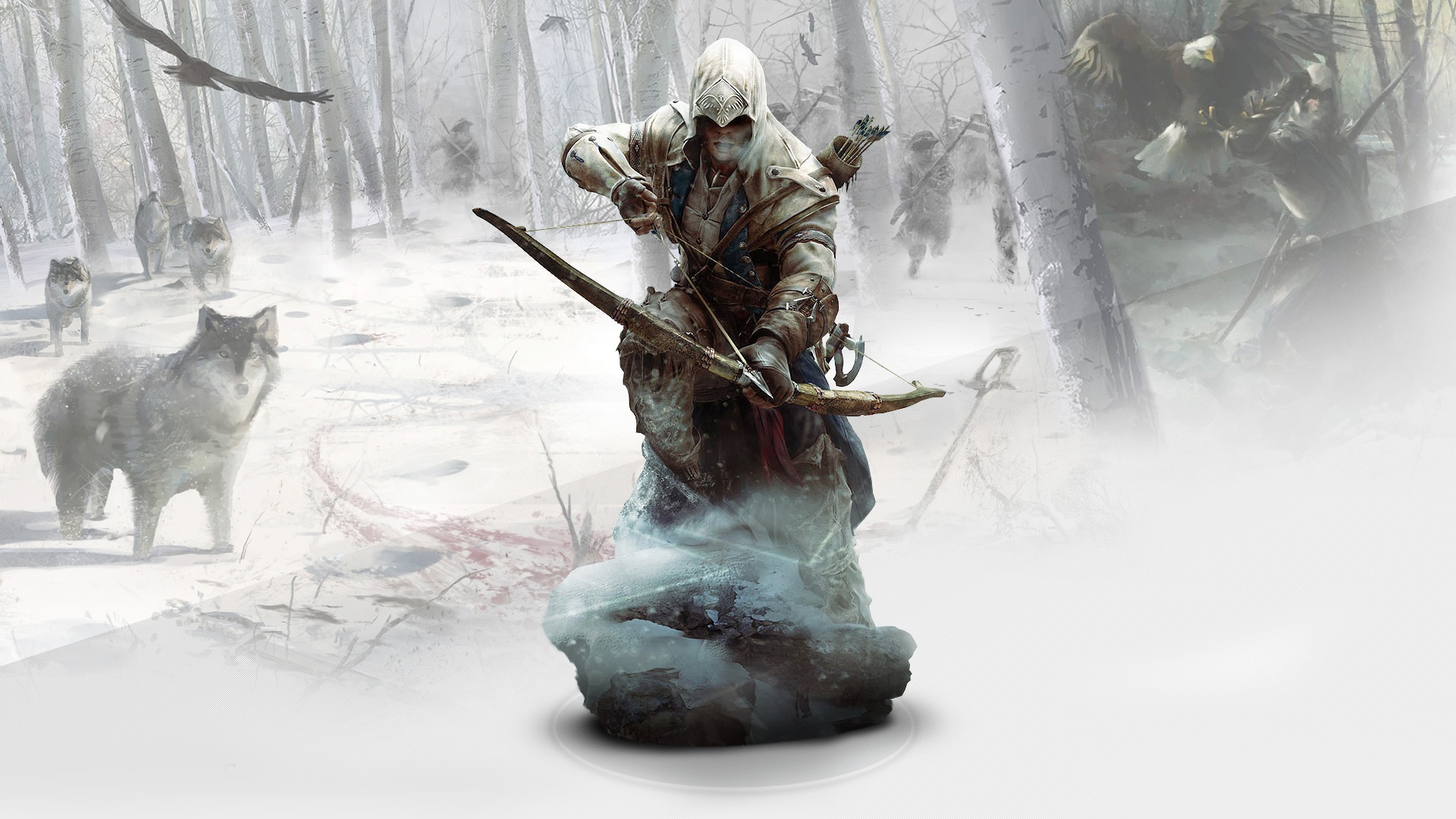 Ratonhnhaketon Assassins Creed 3 Wallpapers