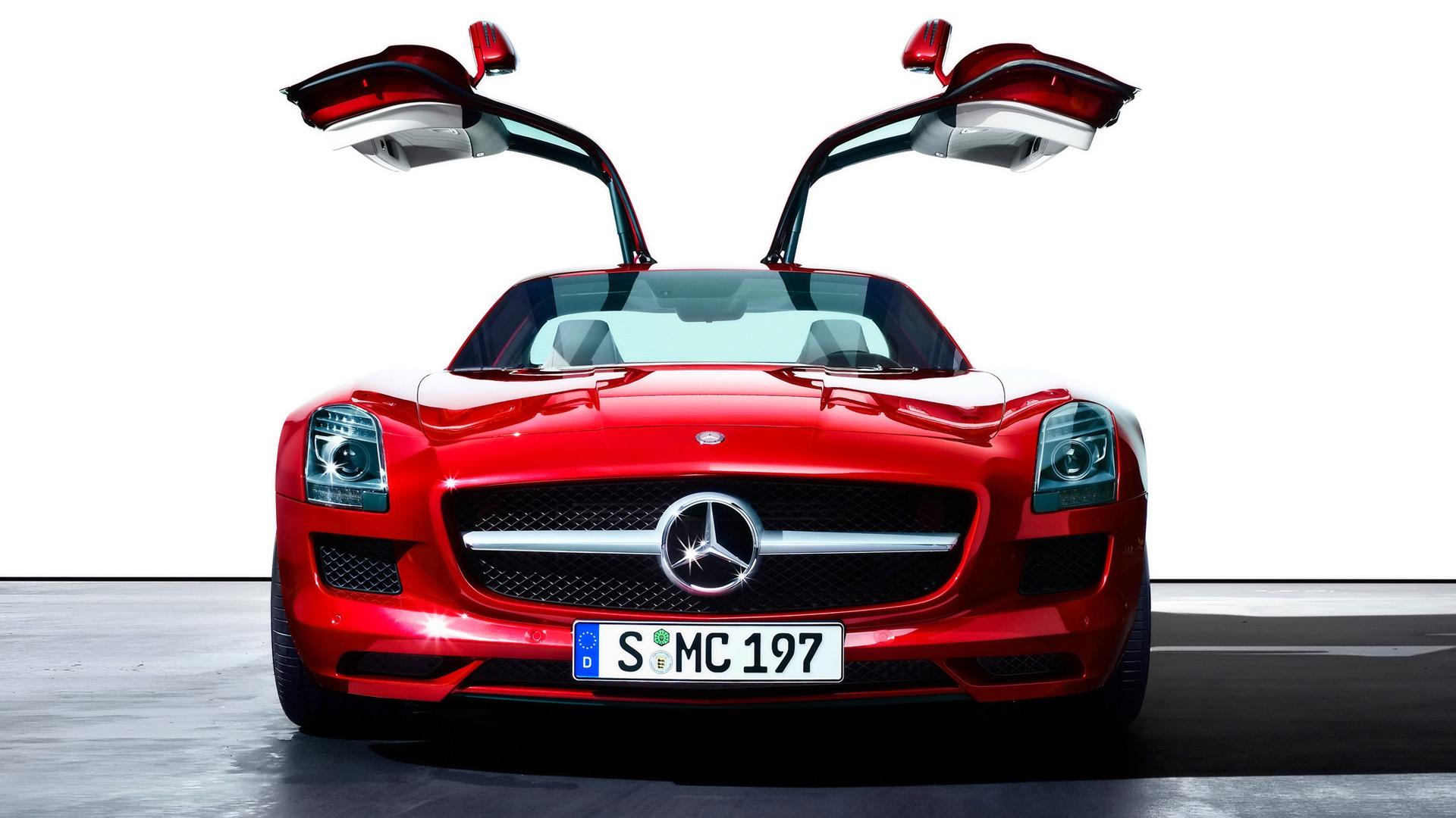 Red Mercedes Sls Amg Wallpaper Mercedes Cars Wallpapers In Jpg