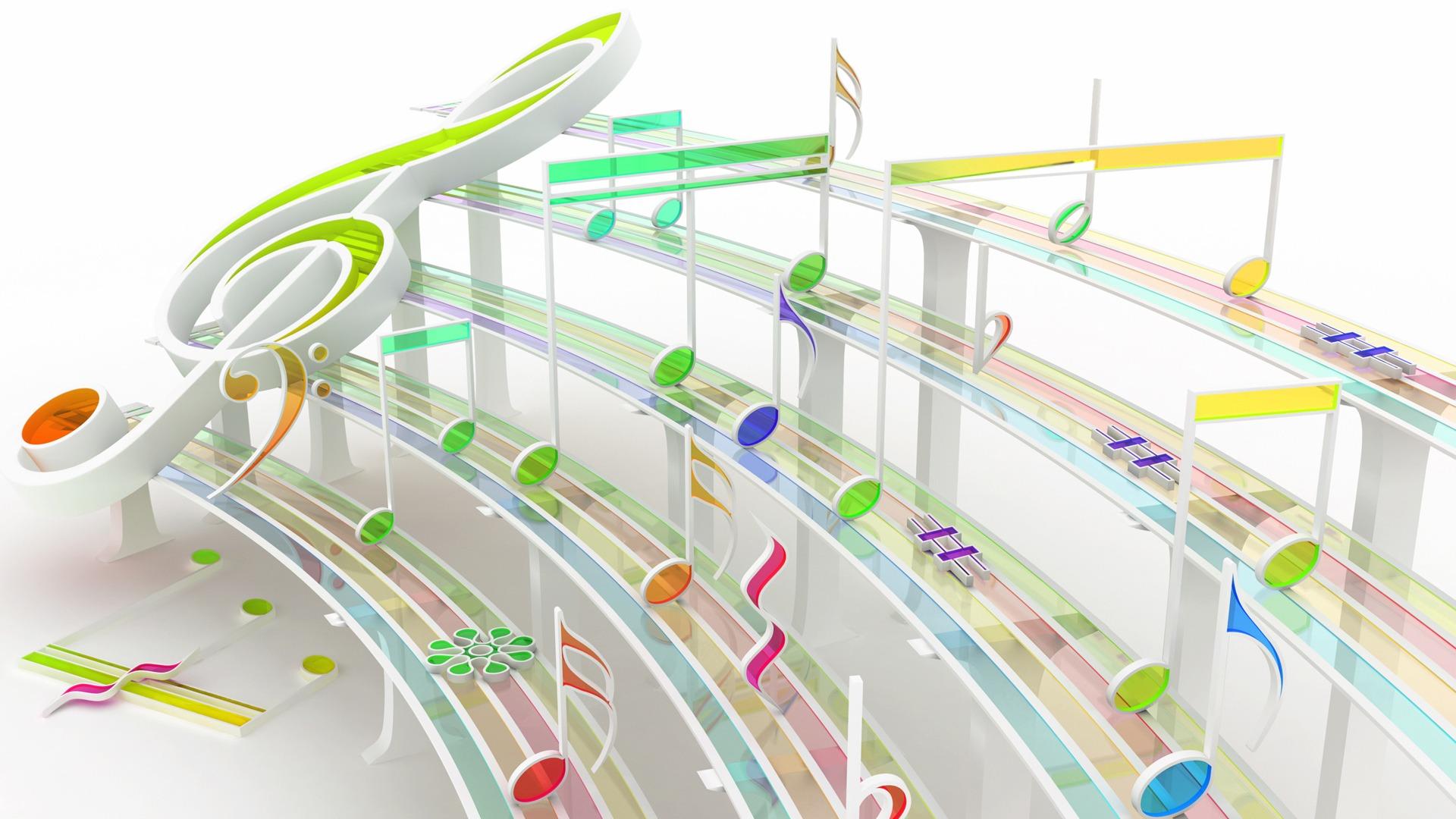 Rhythmics Wallpaper 3D Models Wallpapers