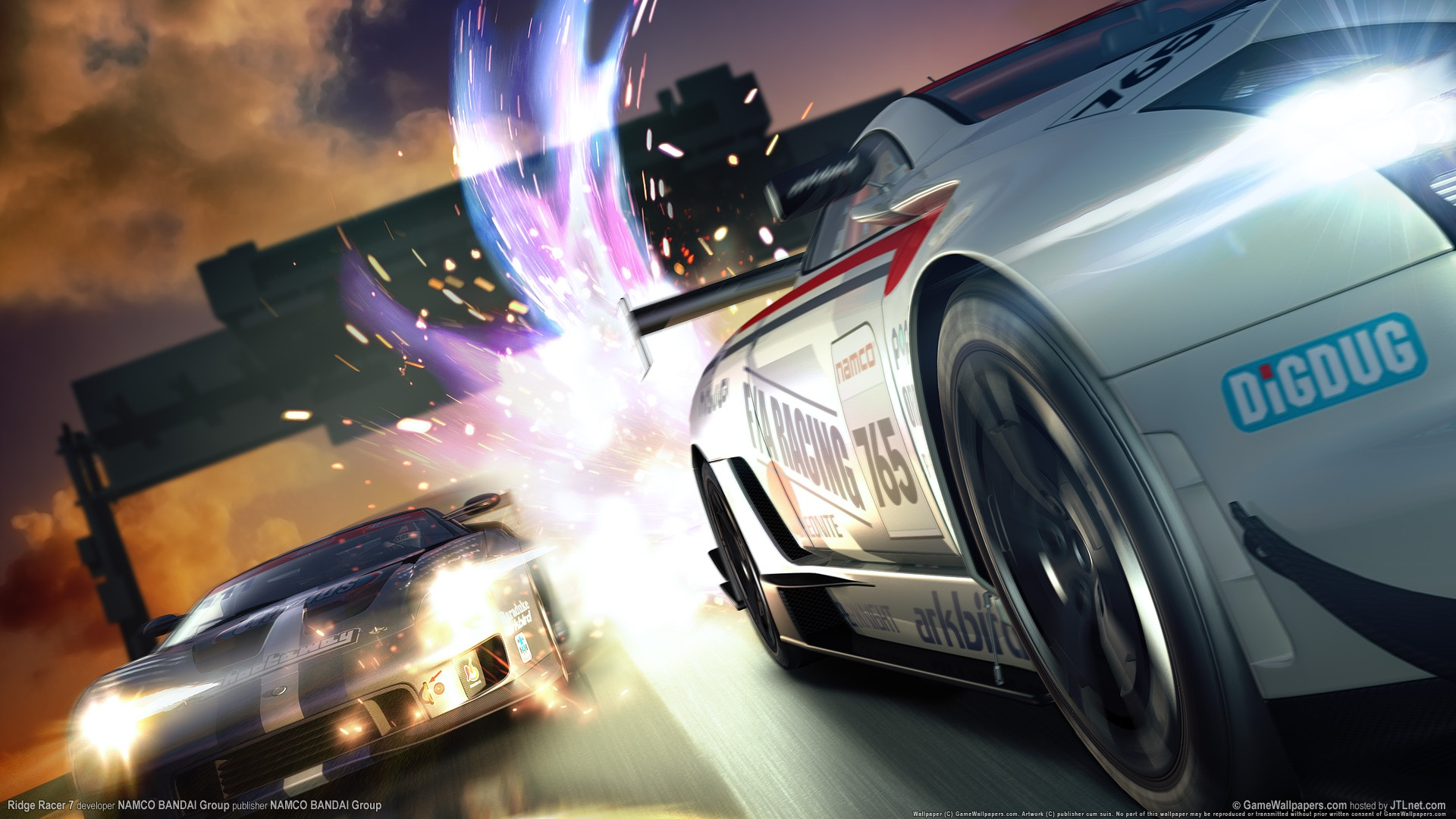 ridge racer latest game wallpapers in jpg format for free download