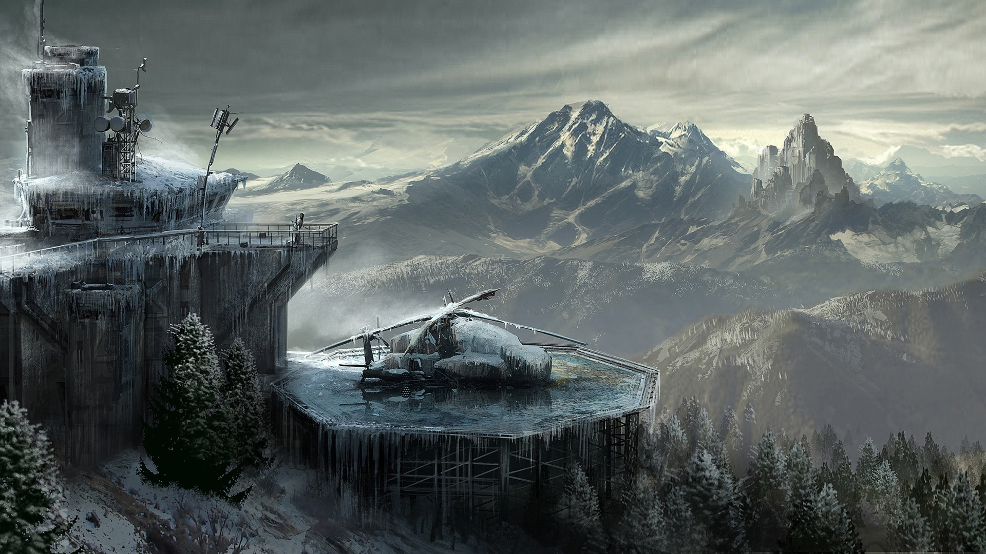 Rise Of The Tomb Raider Concept Art Wallpapers