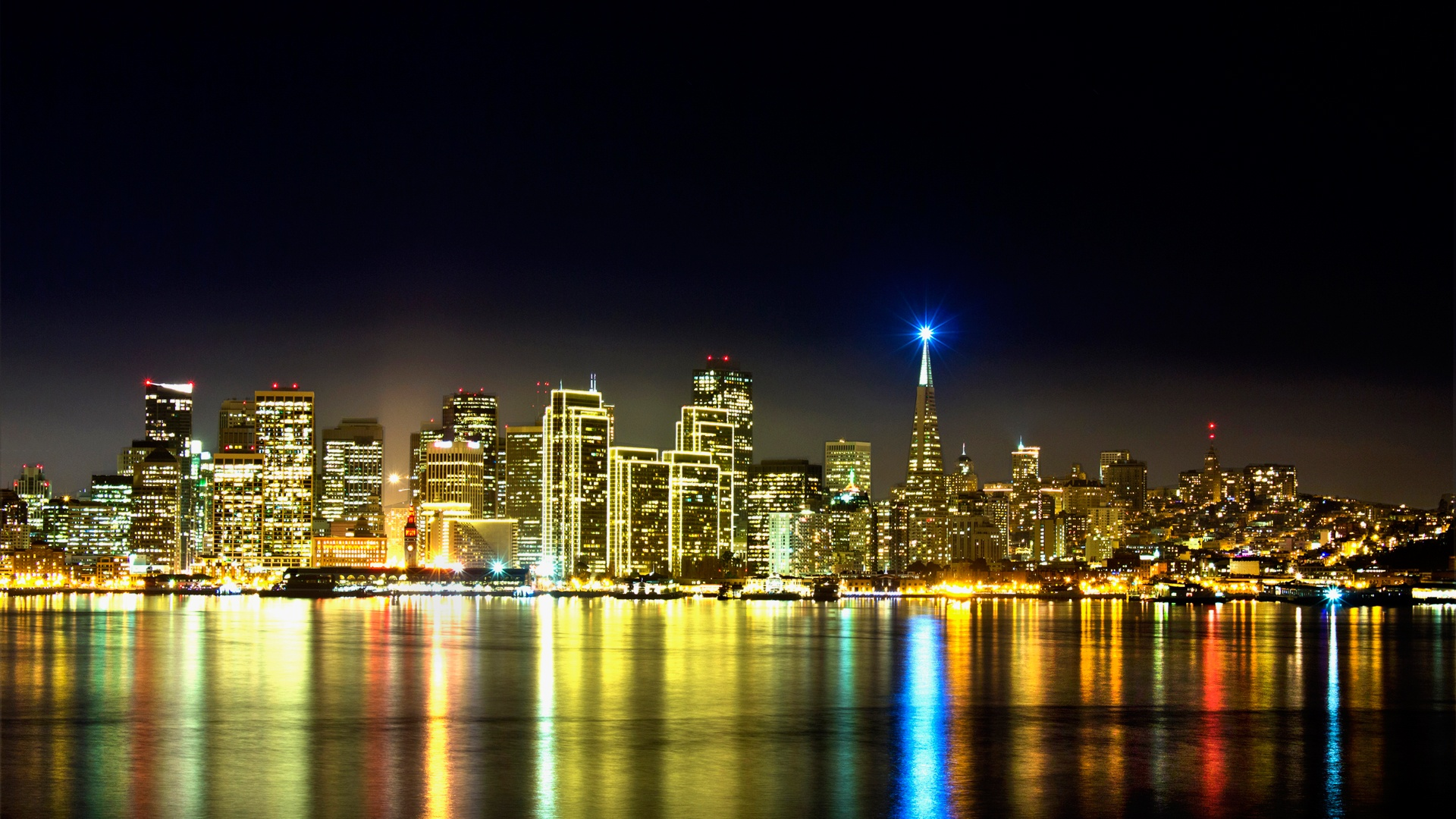 San Francisco Skyline Wallpapers In Jpg Format For Free Download