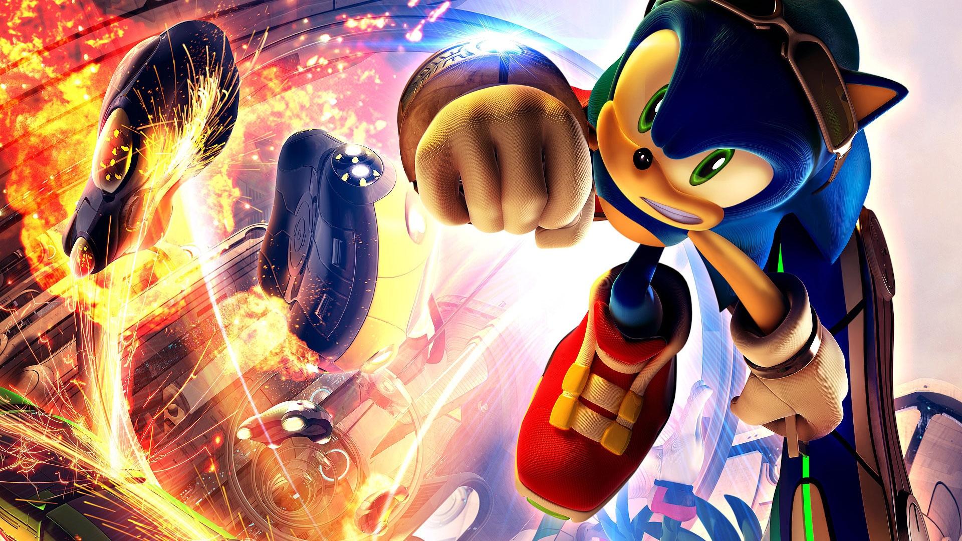 Sonic riders game hellopcgames.