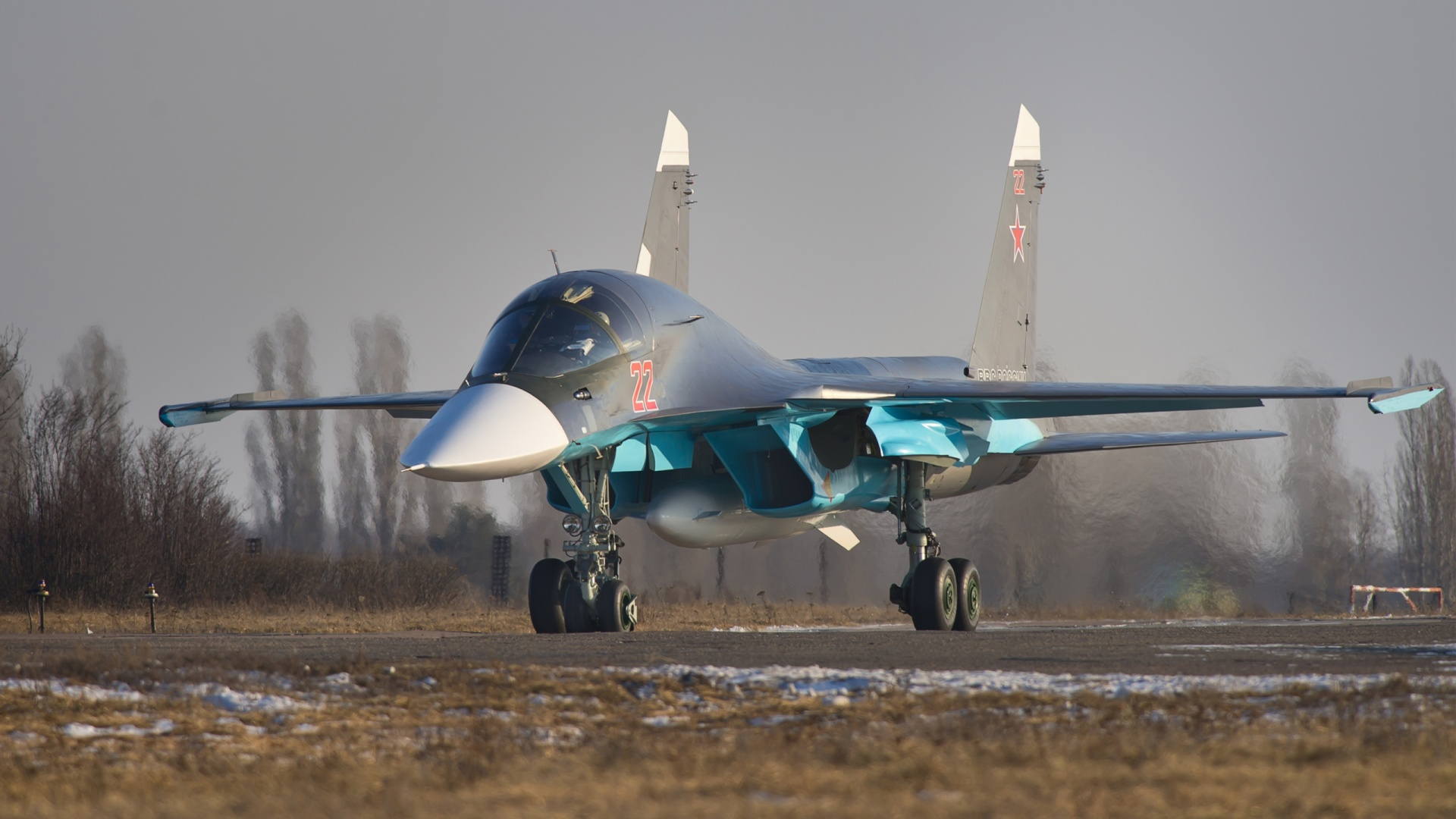 Sukhoi Su 34 Russian Fighter Wallpapers in jpg format for