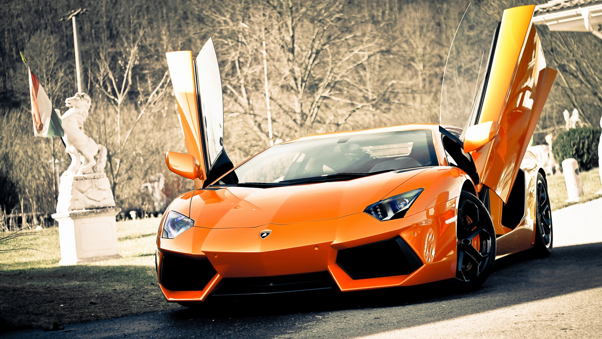 Nice Super Lamborghini Aventador Car Wallpapers
