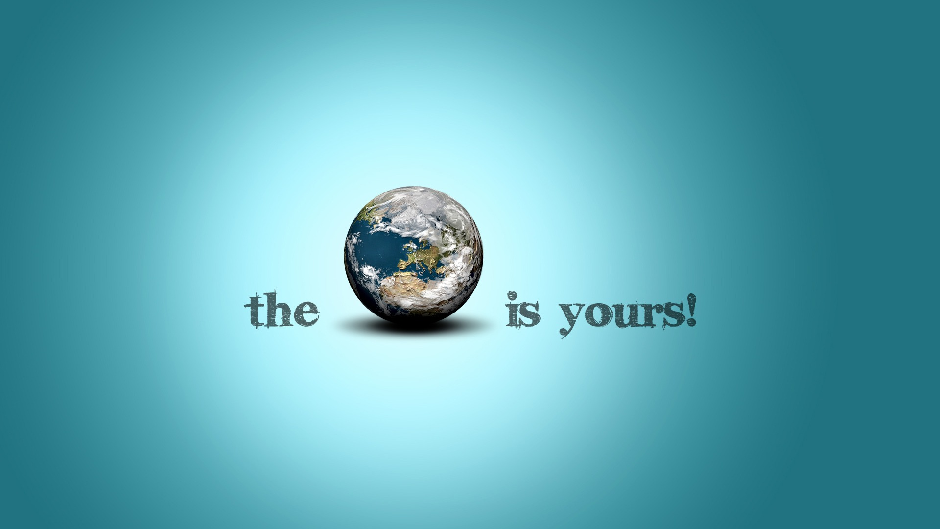 The World Is Yours Wallpaper Photo Manipulated Nature Wallpapers