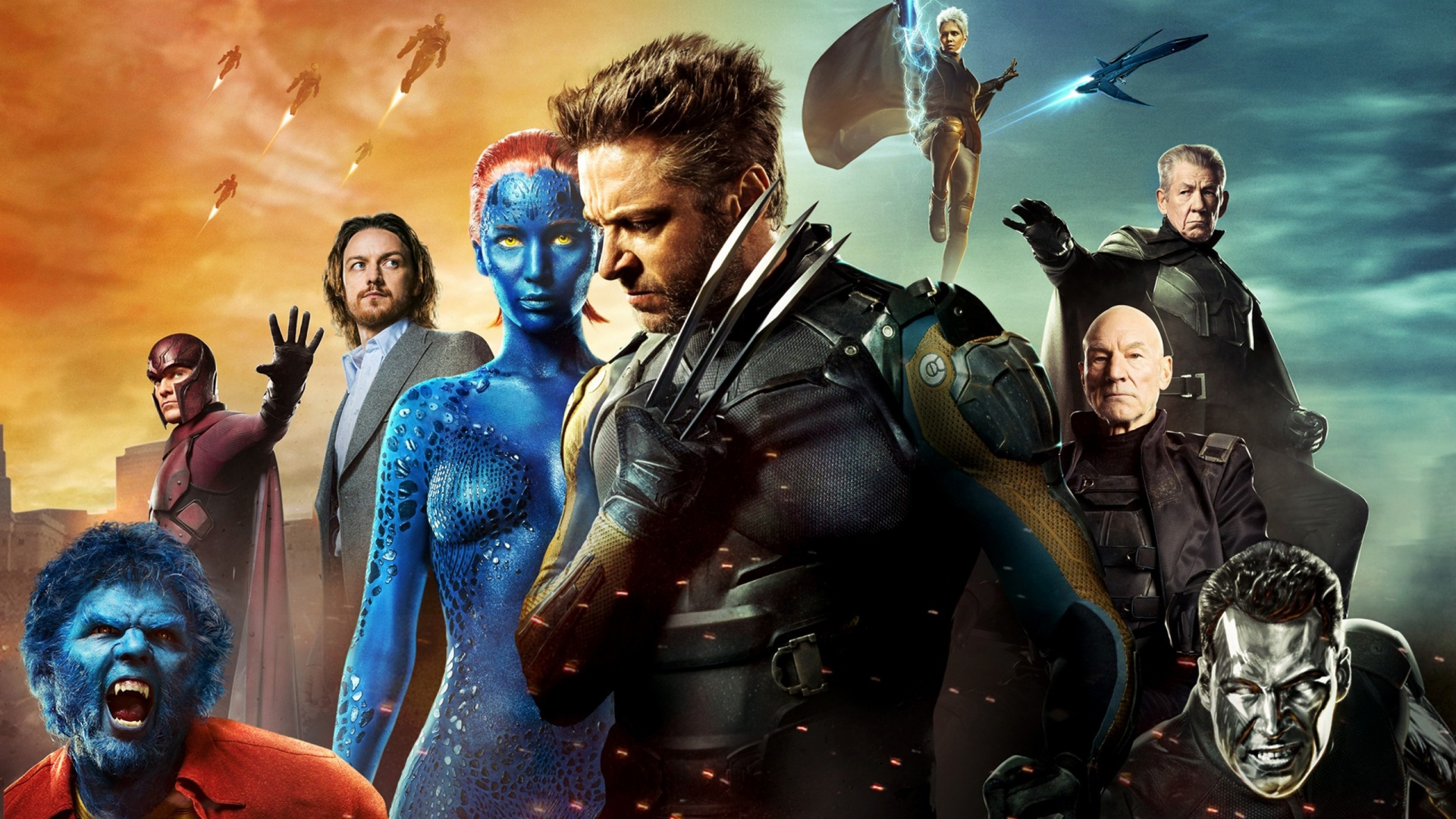 X Men Days Of Future Past Poster Wallpapers