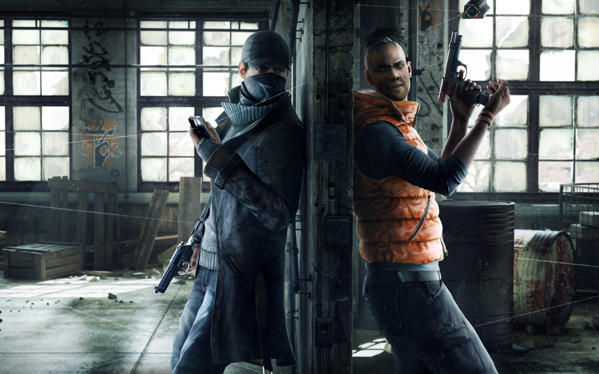 2014 Watch Dogs Game Wallpapers