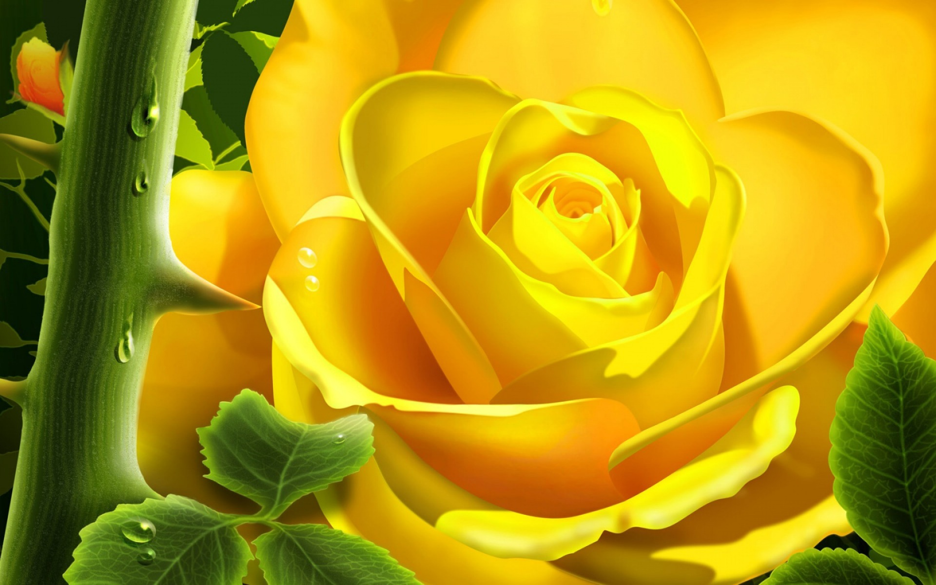 3d yellow rose wallpaper 3d models 3d wallpapers in jpg format for