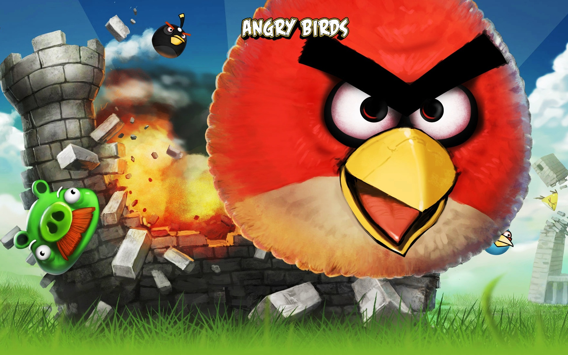 Angry Birds Iphone Game Wallpapers In Jpg Format For Free Download