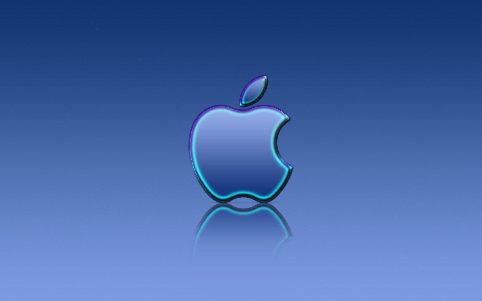 Simple Wallpaper Macbook Blue - apple_blue_reflexion_wallpaper_apple_computers_2760  HD_464516.jpg