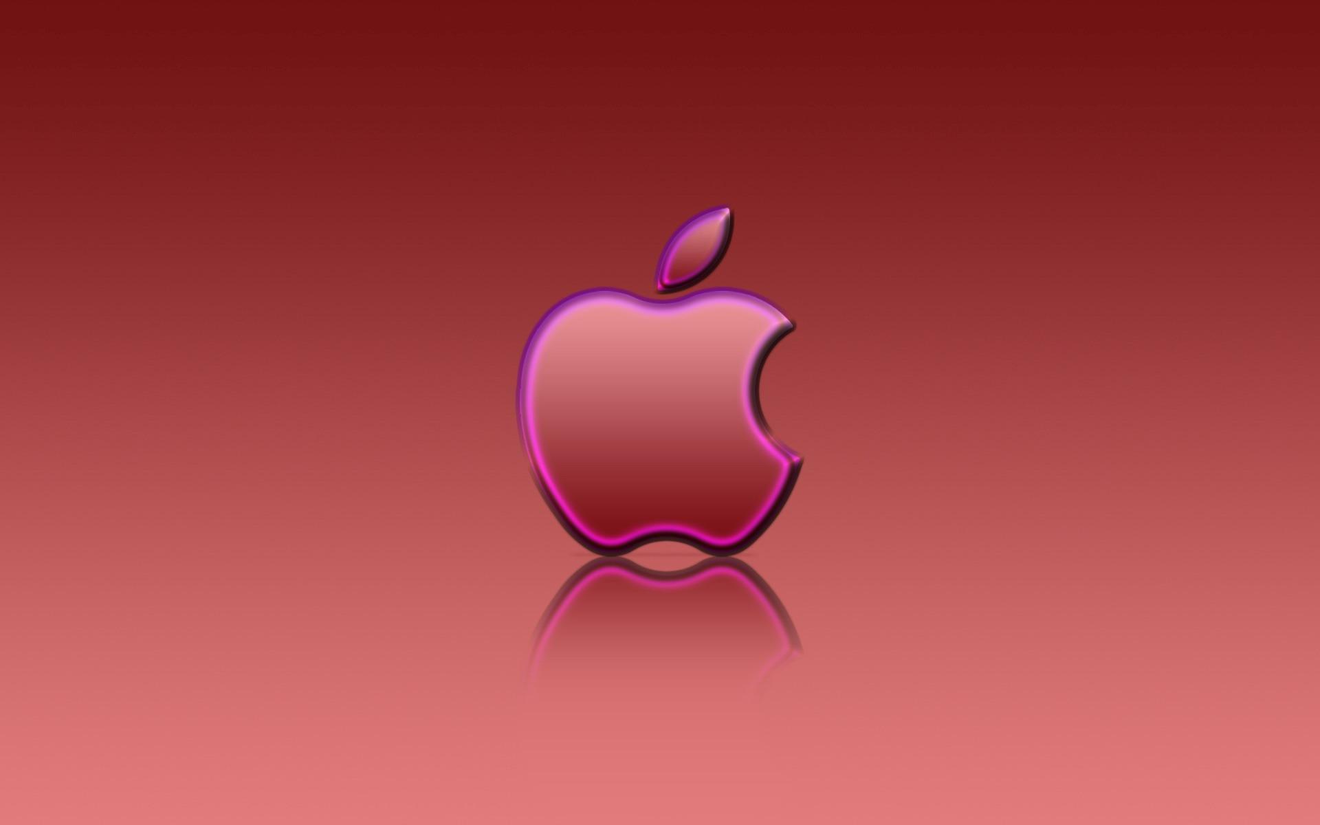 Cool Wallpaper Macbook Purple - apple_red_reflexion_wallpaper_apple_computers_2759  HD_952957.jpg