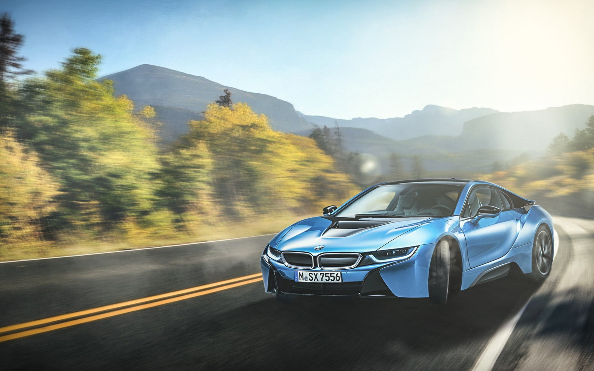 Bmw I8 Blue Wallpapers In Jpg Format For Free Download