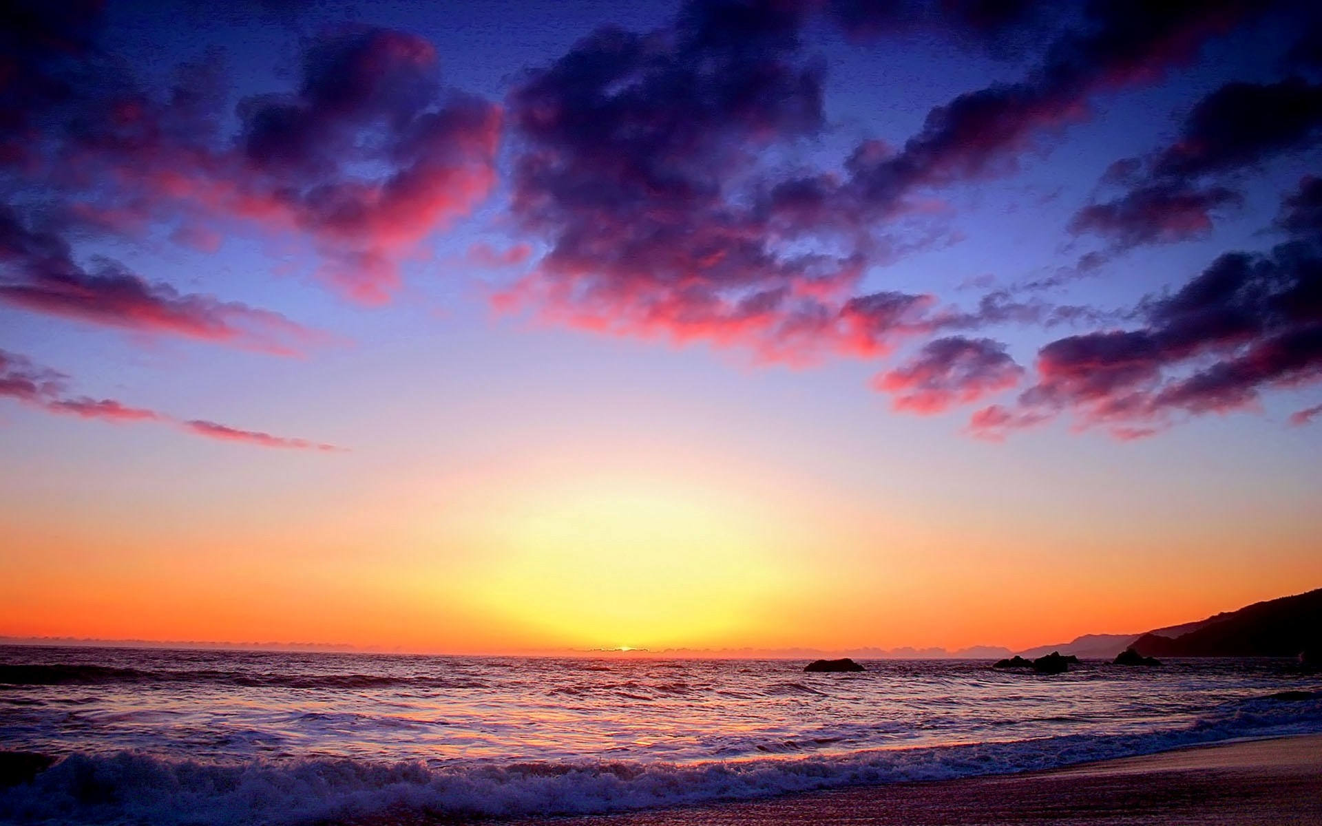colorful sunset twilight wallpapers in jpg format for free download
