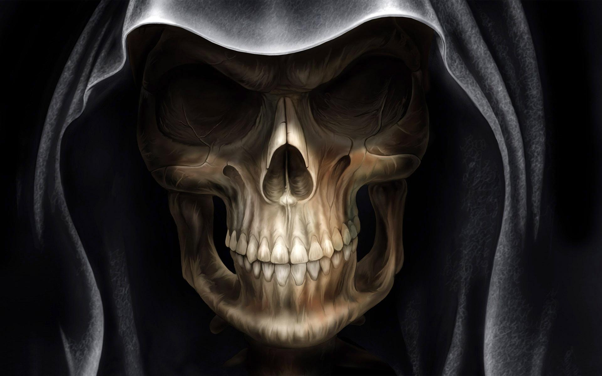 Demon Alien Devil Skull Wallpapers In Jpg Format For Free Download