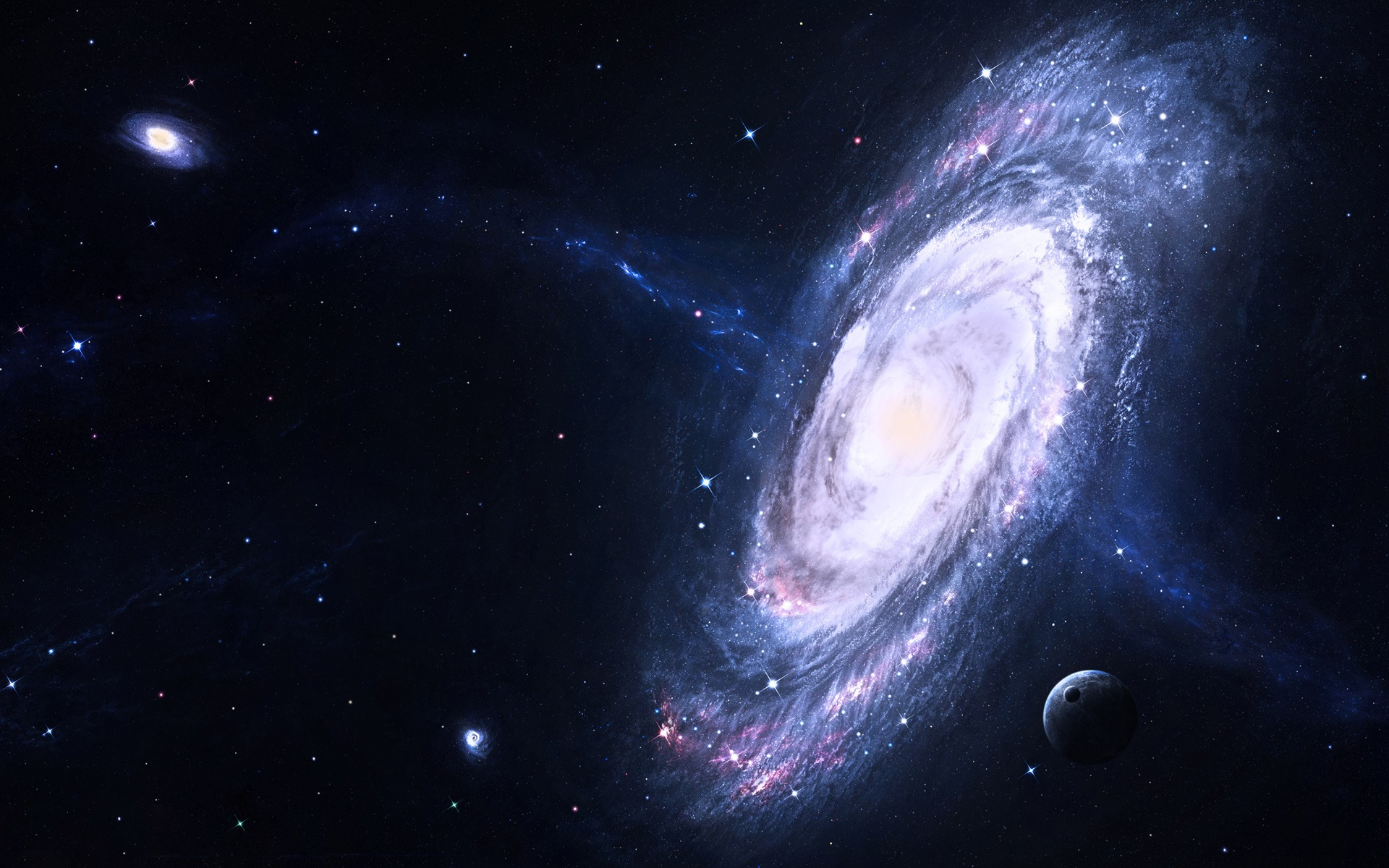 Galaxy Wallpaper Space Nature Wallpapers