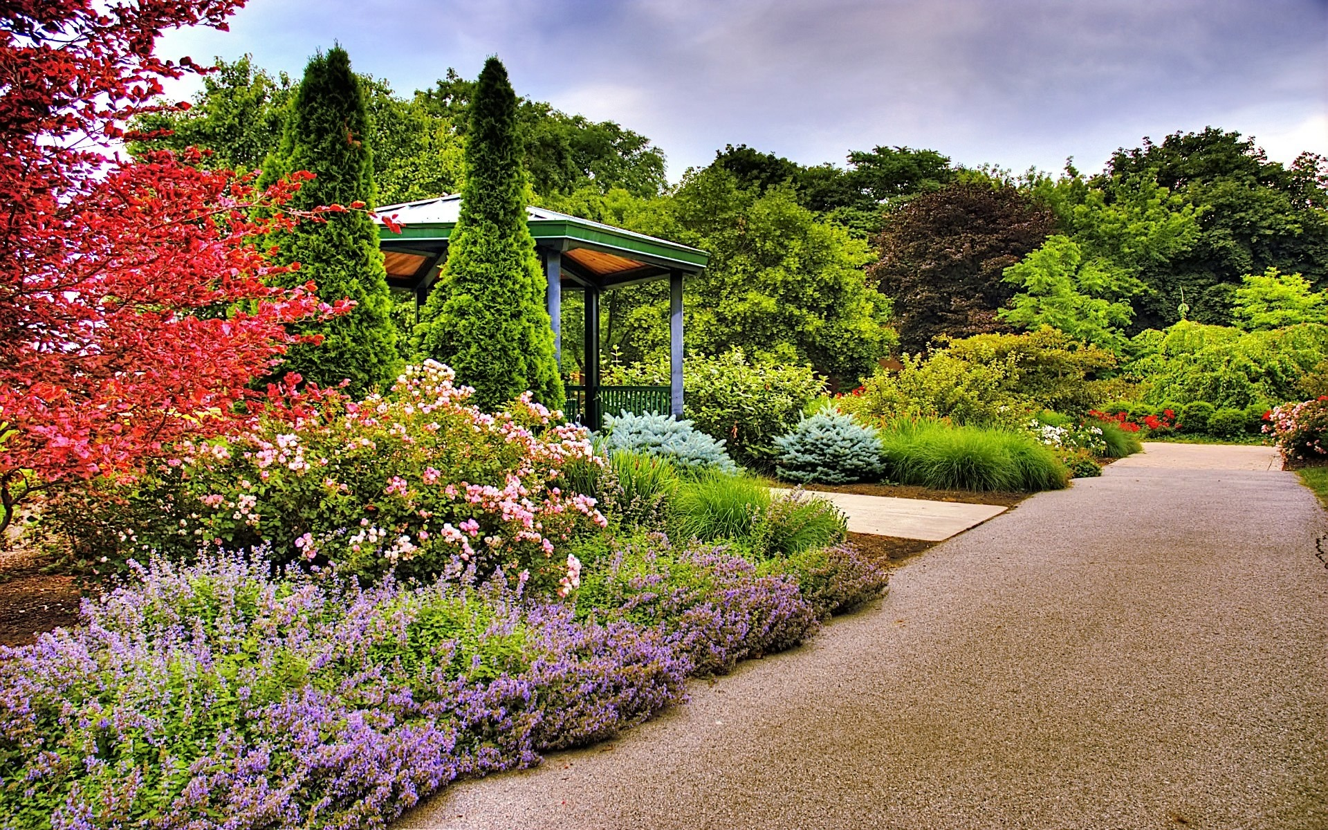 Captivating Garden Wallpaper Other Nature Wallpapers
