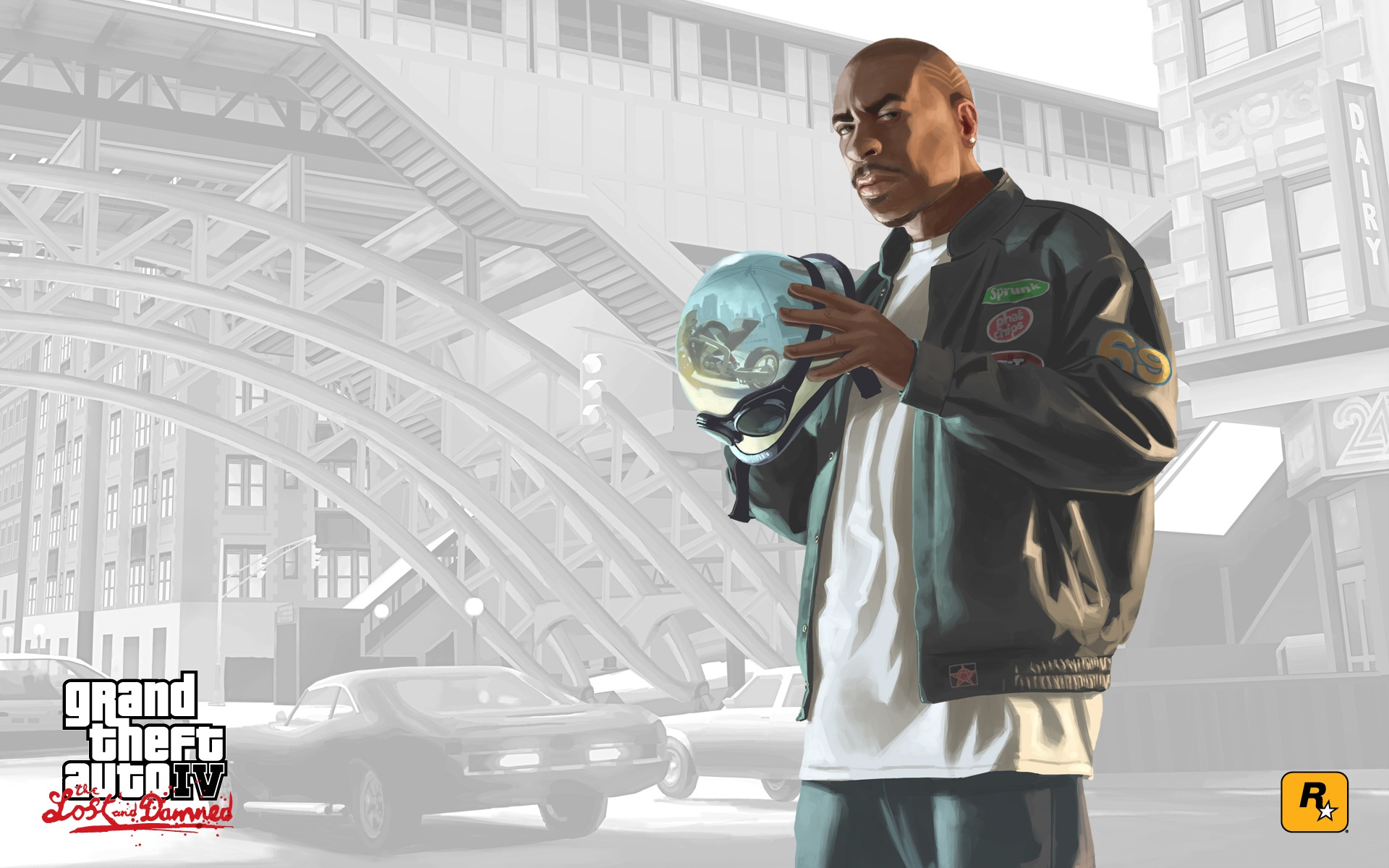GTA The Lost And Damned Wallpaper GTA IV Games Wallpapers in jpg