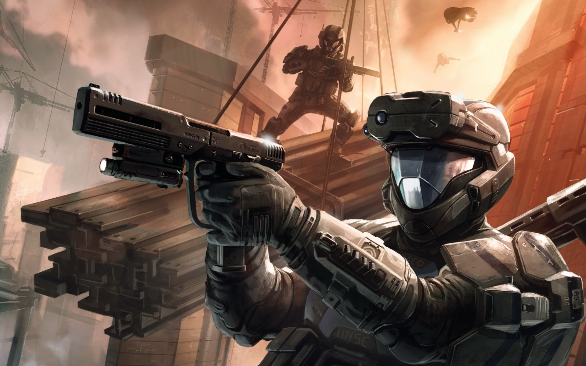 Halo 3 Hq Wallpapers In Jpg Format For Free Download