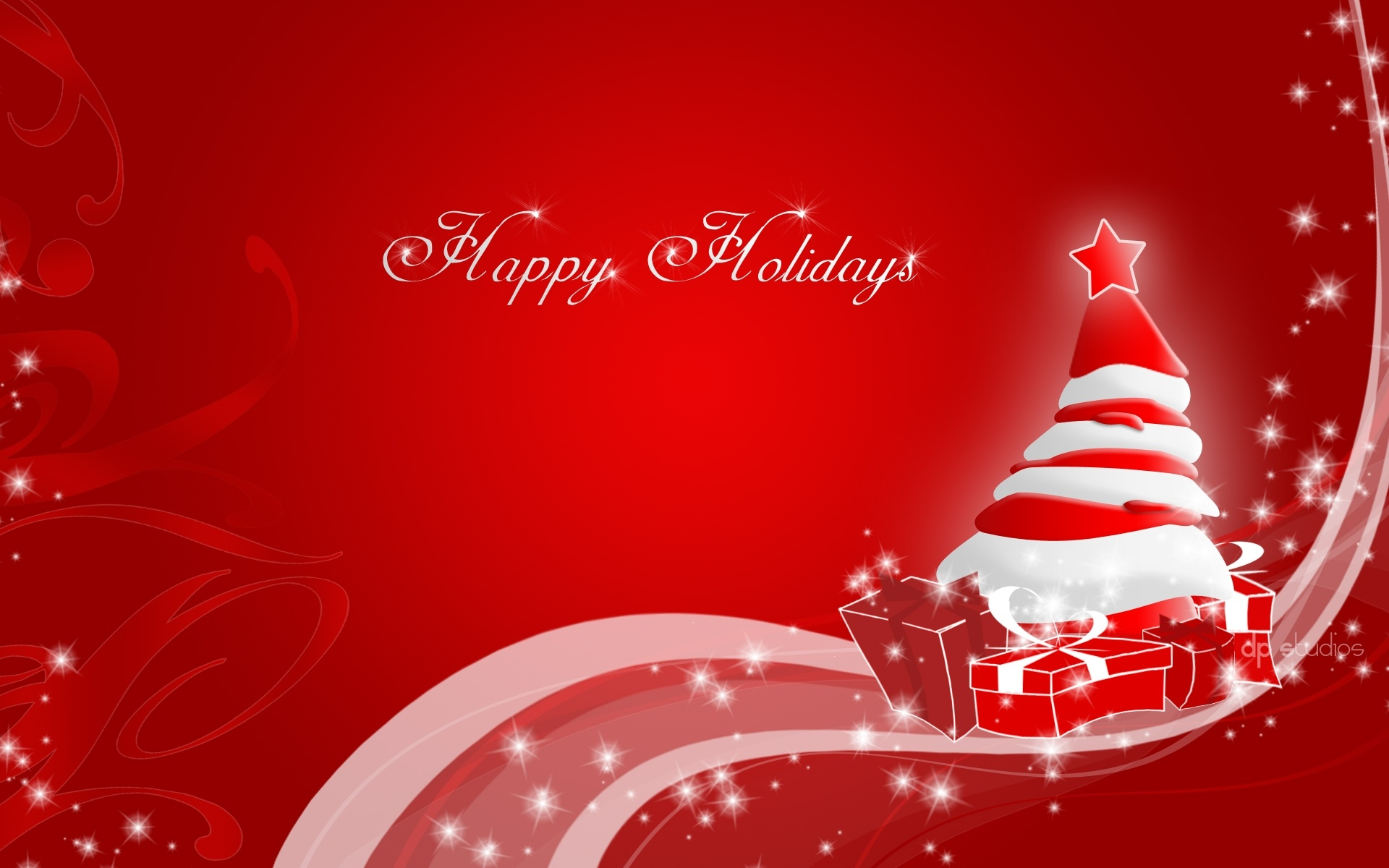 Happy Holidays Christmas Wallpapers in jpg format for free download