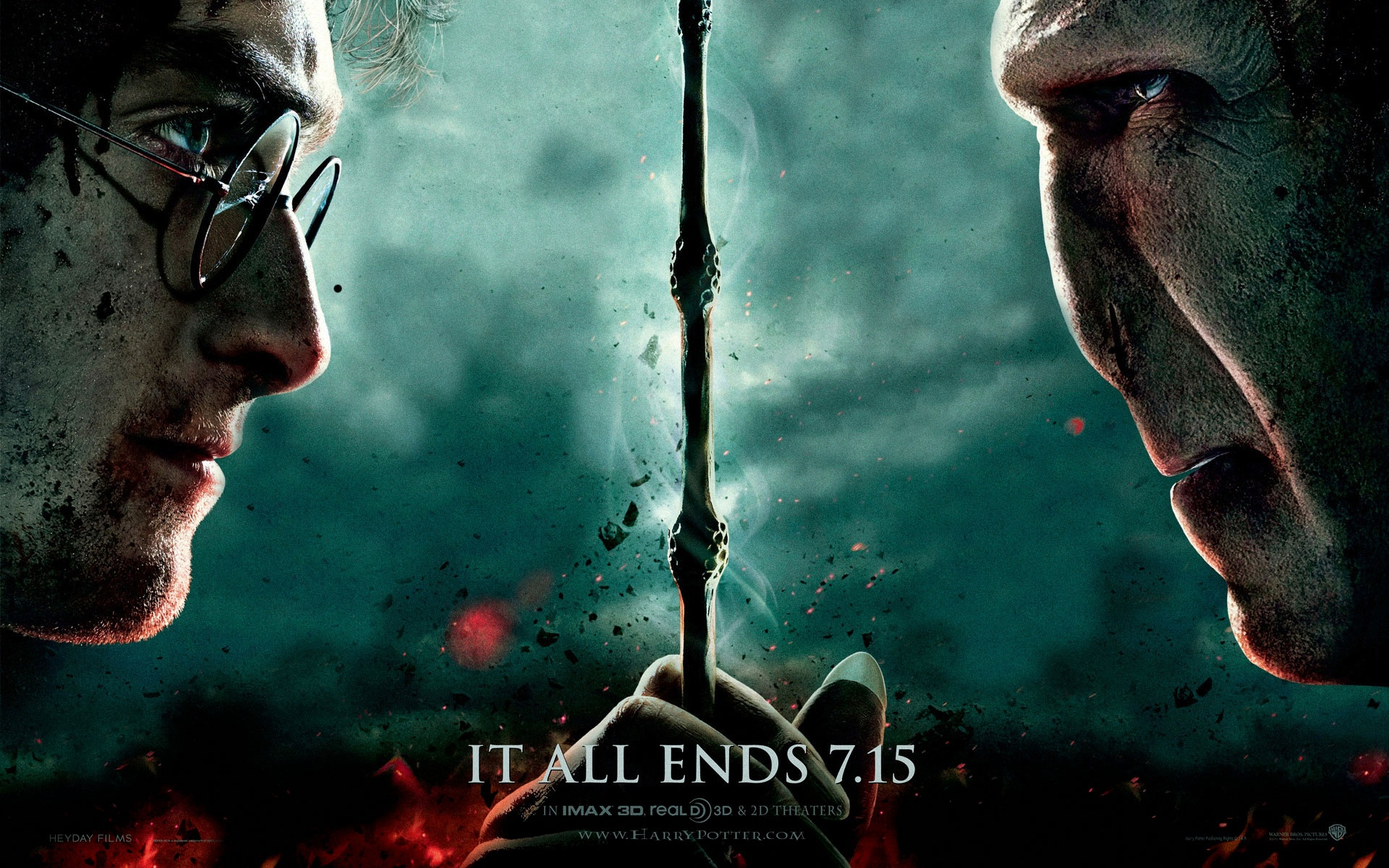 Harry Potter 7 Part 2 Wallpapers In Jpg Format For Free Download