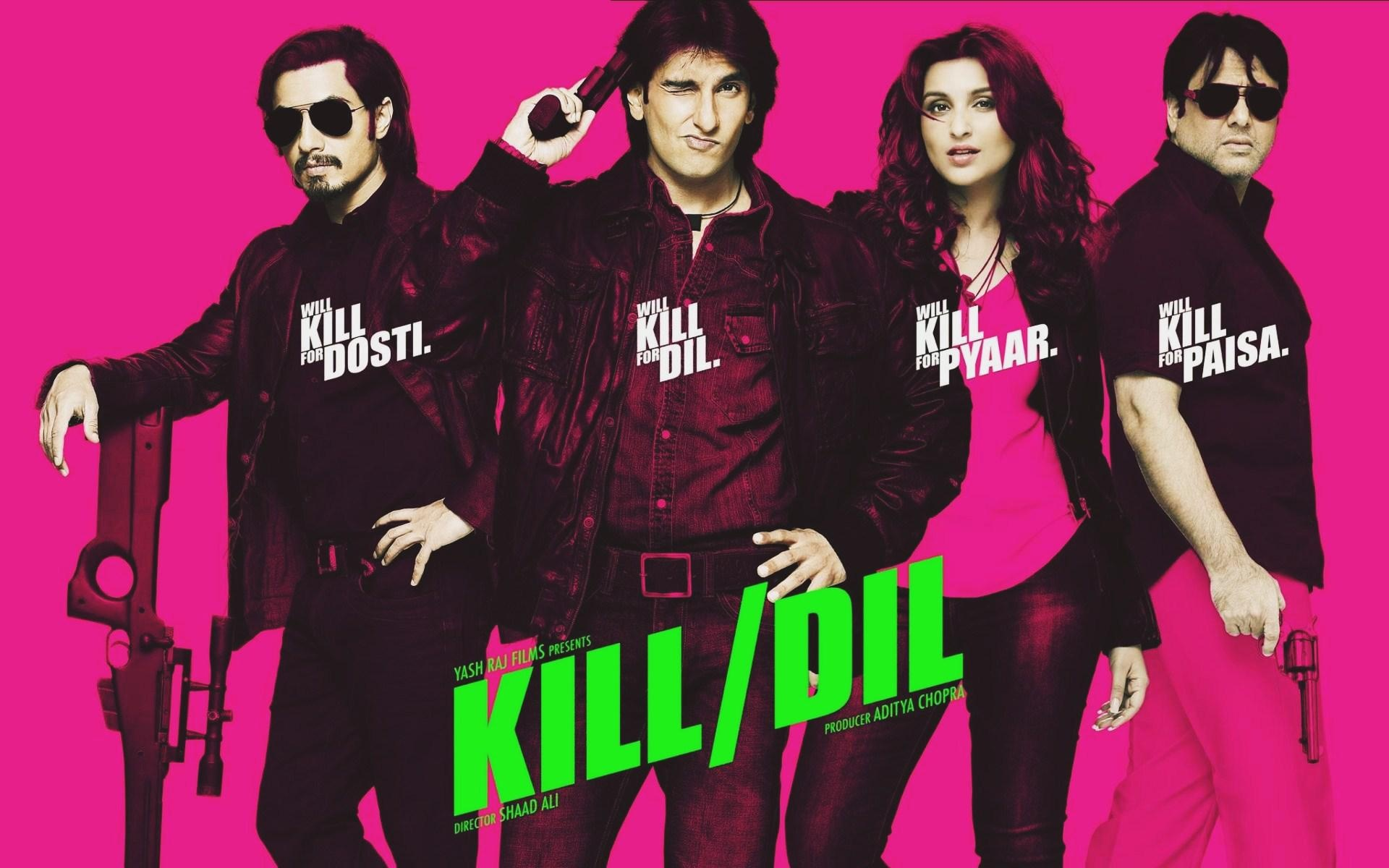 Kill dil movie wallpapers in jpg format for free download.