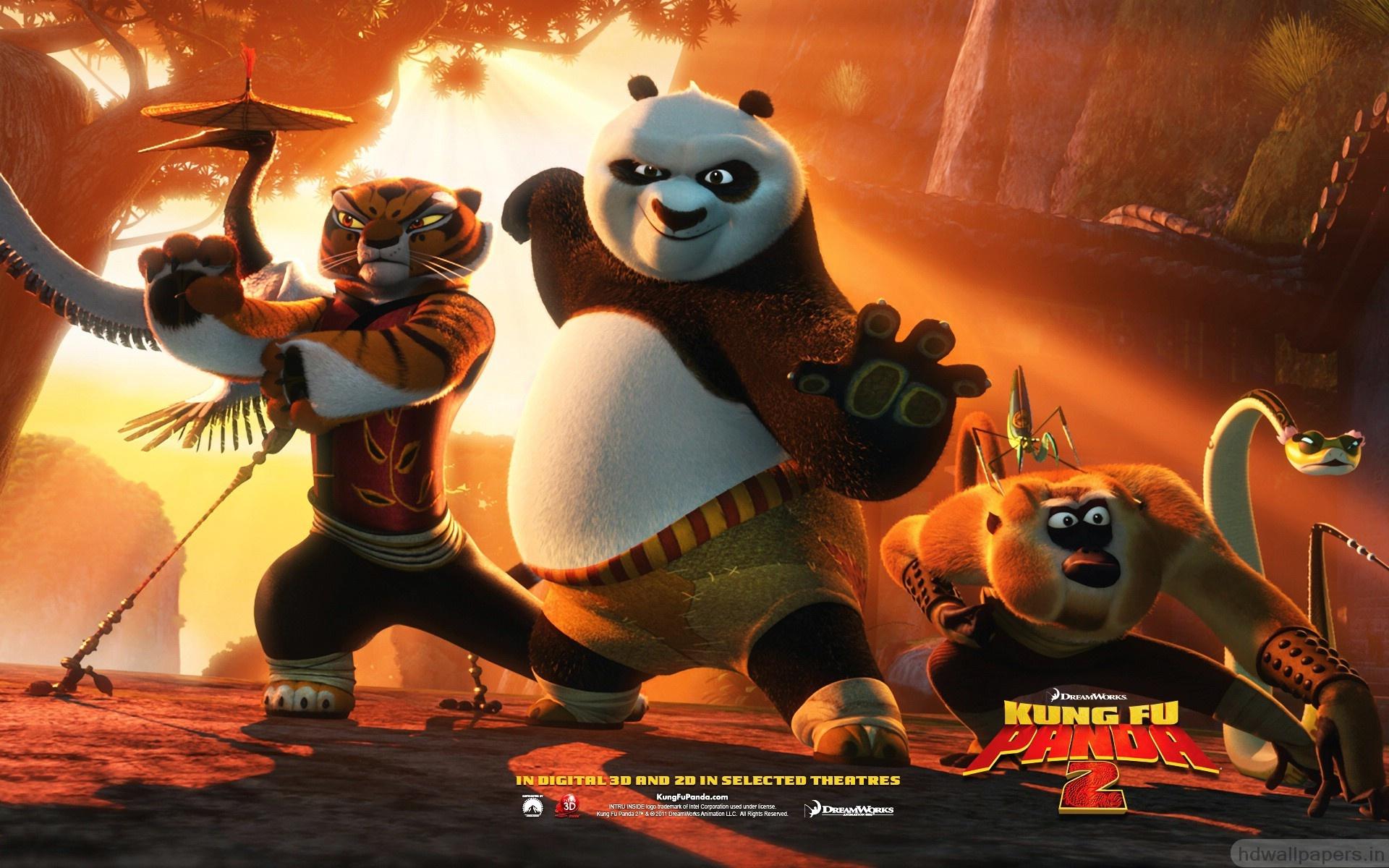 Master croc from kung fu panda 2 movie desktop wallpaper.