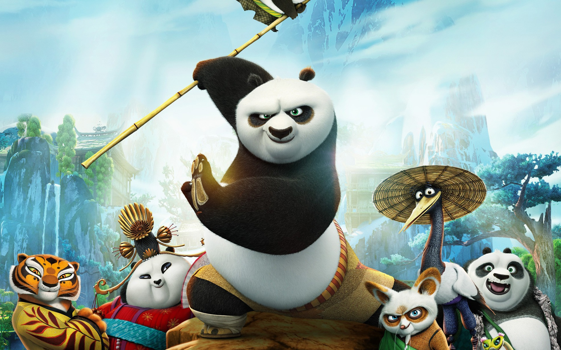 Kung fu panda 3 movie 2016 wallpapers
