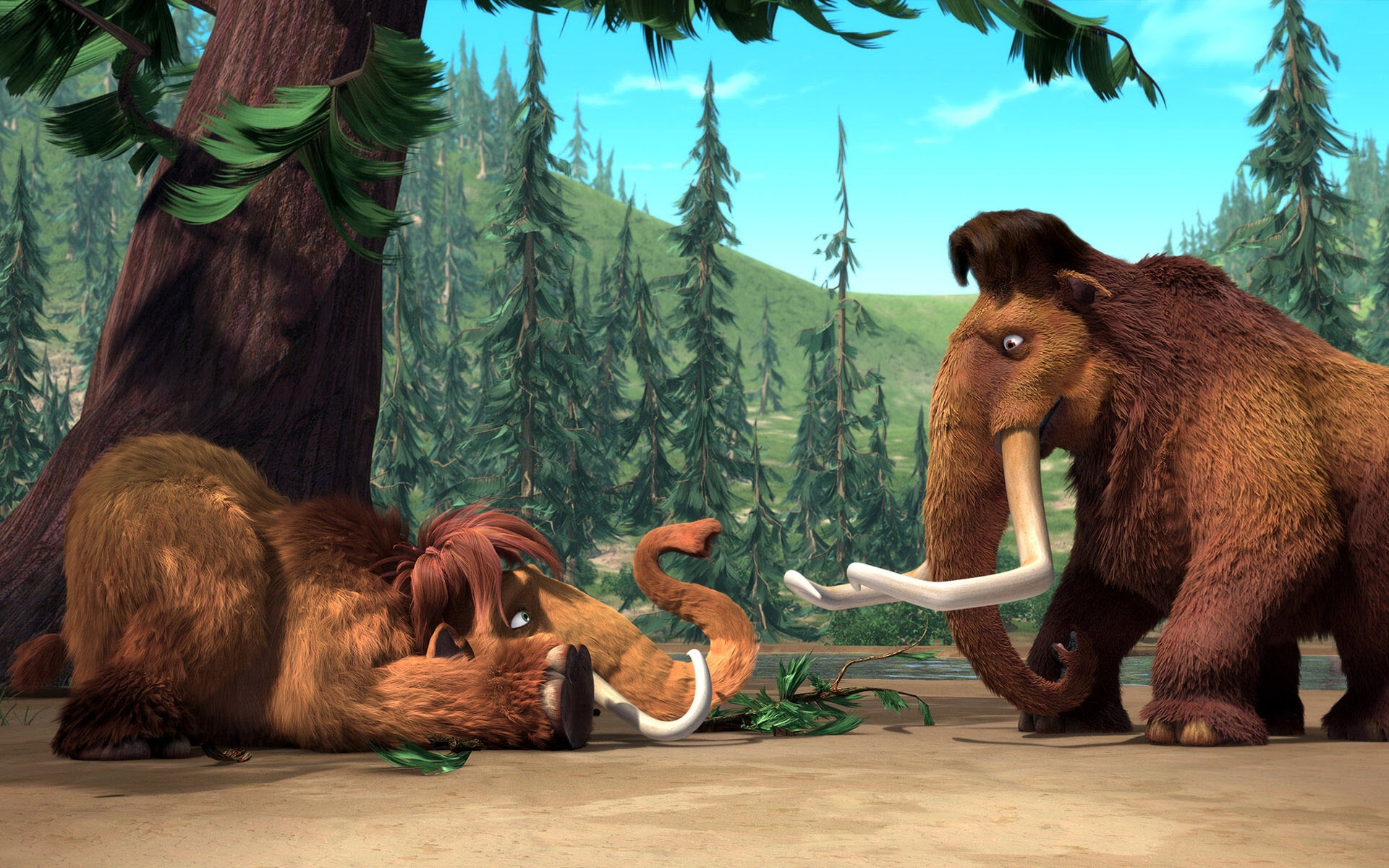 manny & ellie ice age wallpapers in jpg format for free download