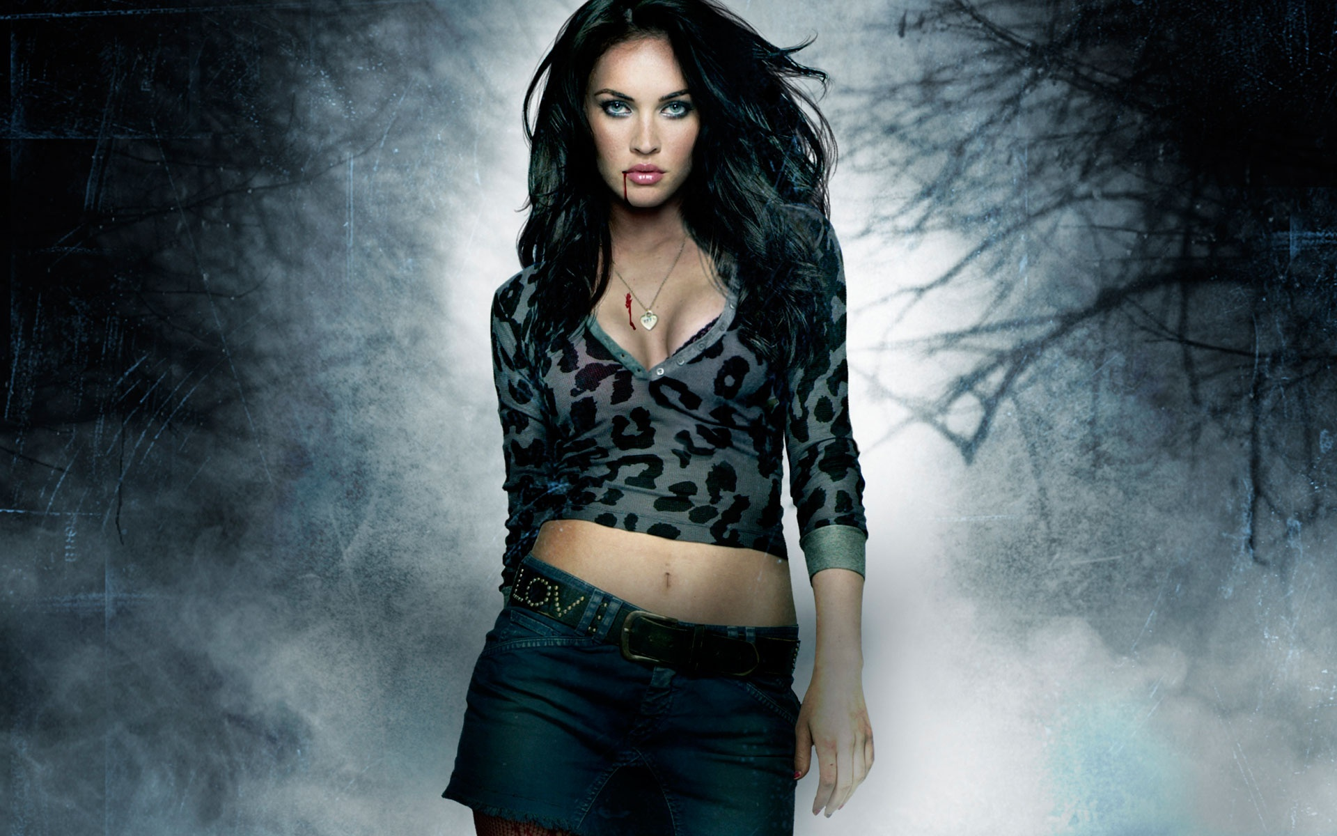 Megan fox in jennifers body poster wallpapers in jpg format for free 19201080 19201200 voltagebd Images