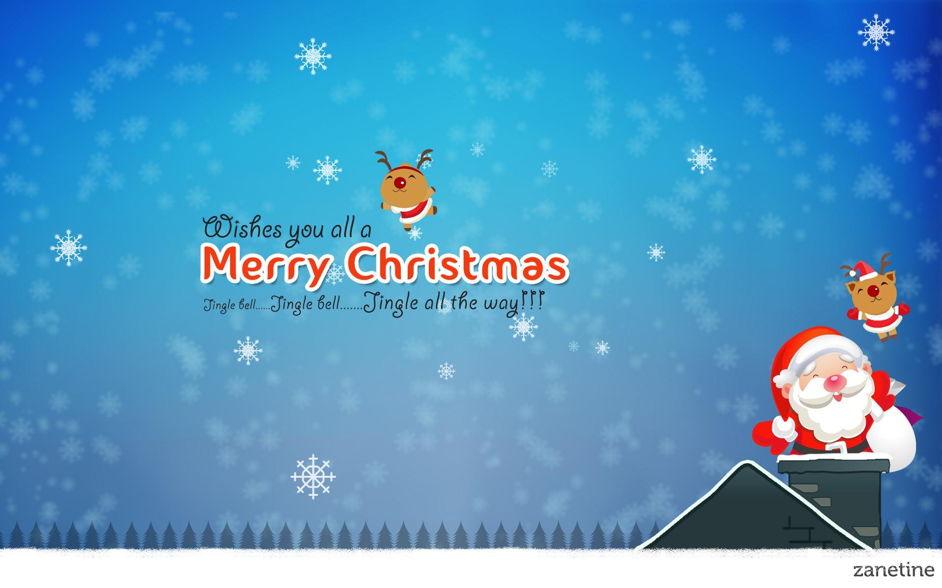 Merry Christmas Jingle Bells Wallpapers