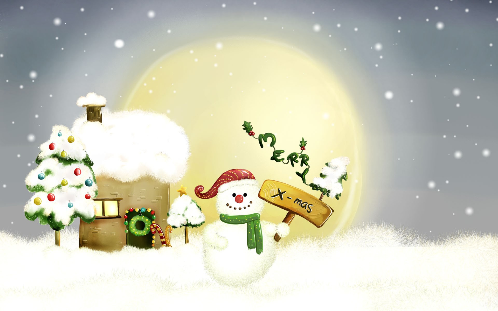 Merry Xmas Wallpaper Christmas Holidays Wallpapers in jpg format ...