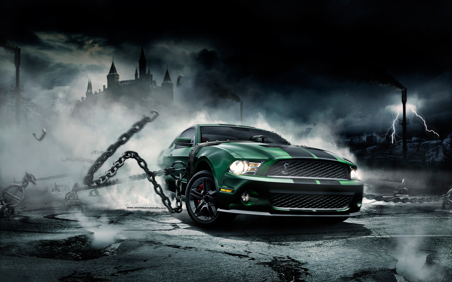 Ugly monster wallpapers for free download about 42 wallpapers mustang monster voltagebd Images