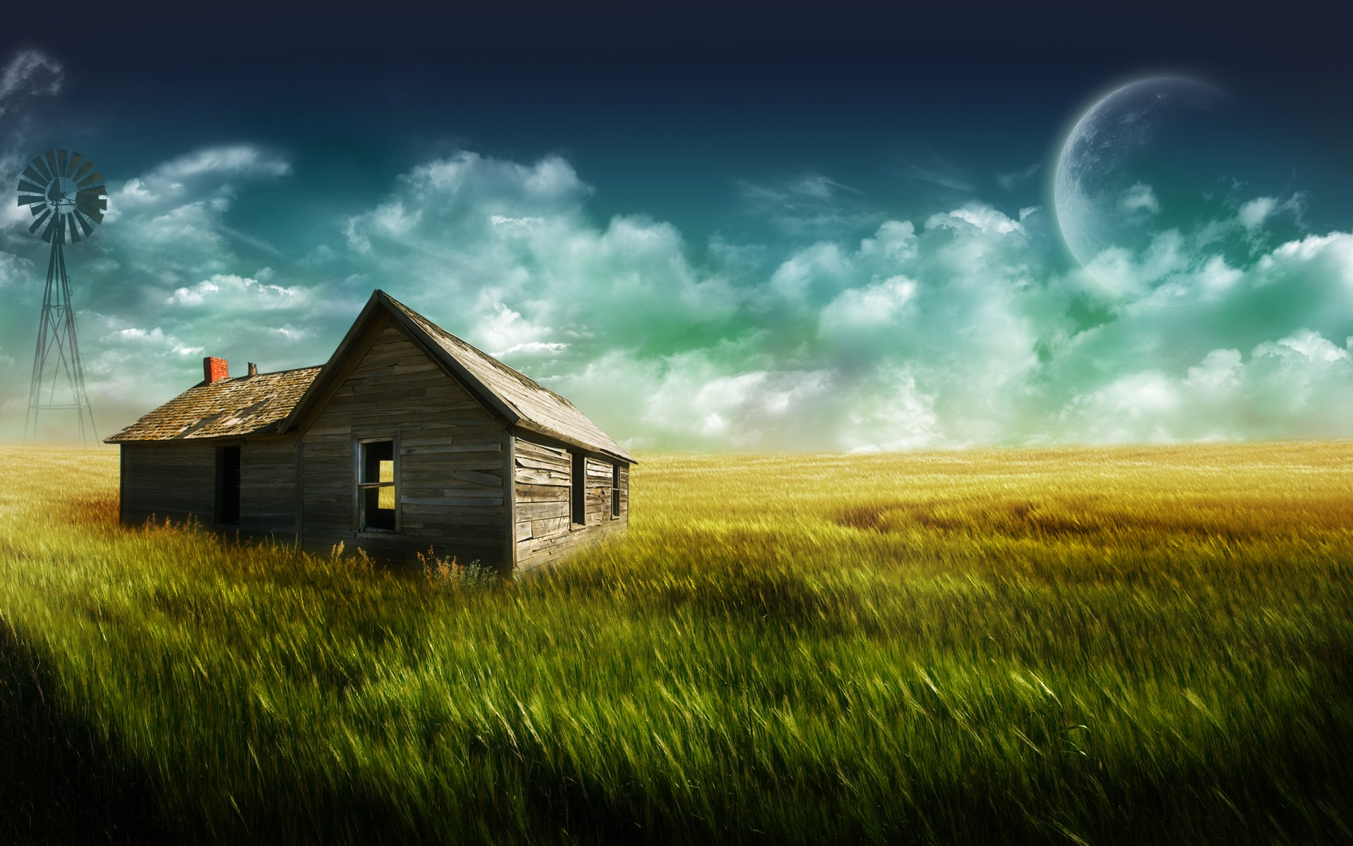 Old Farm Wallpaper Landscape Nature Wallpapers in jpg format for ...