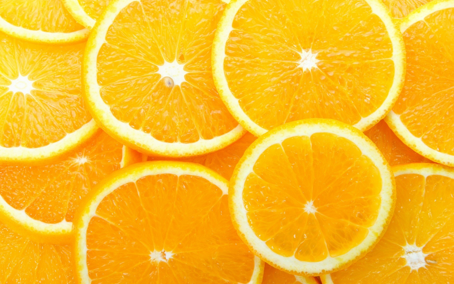 Wallpaper of fruits - Orange Slices Wallpaper Fruits Nature