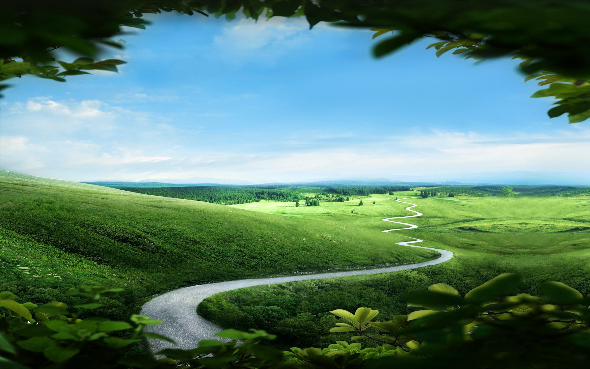 Path Landscape Wallpapers in jpg format for free