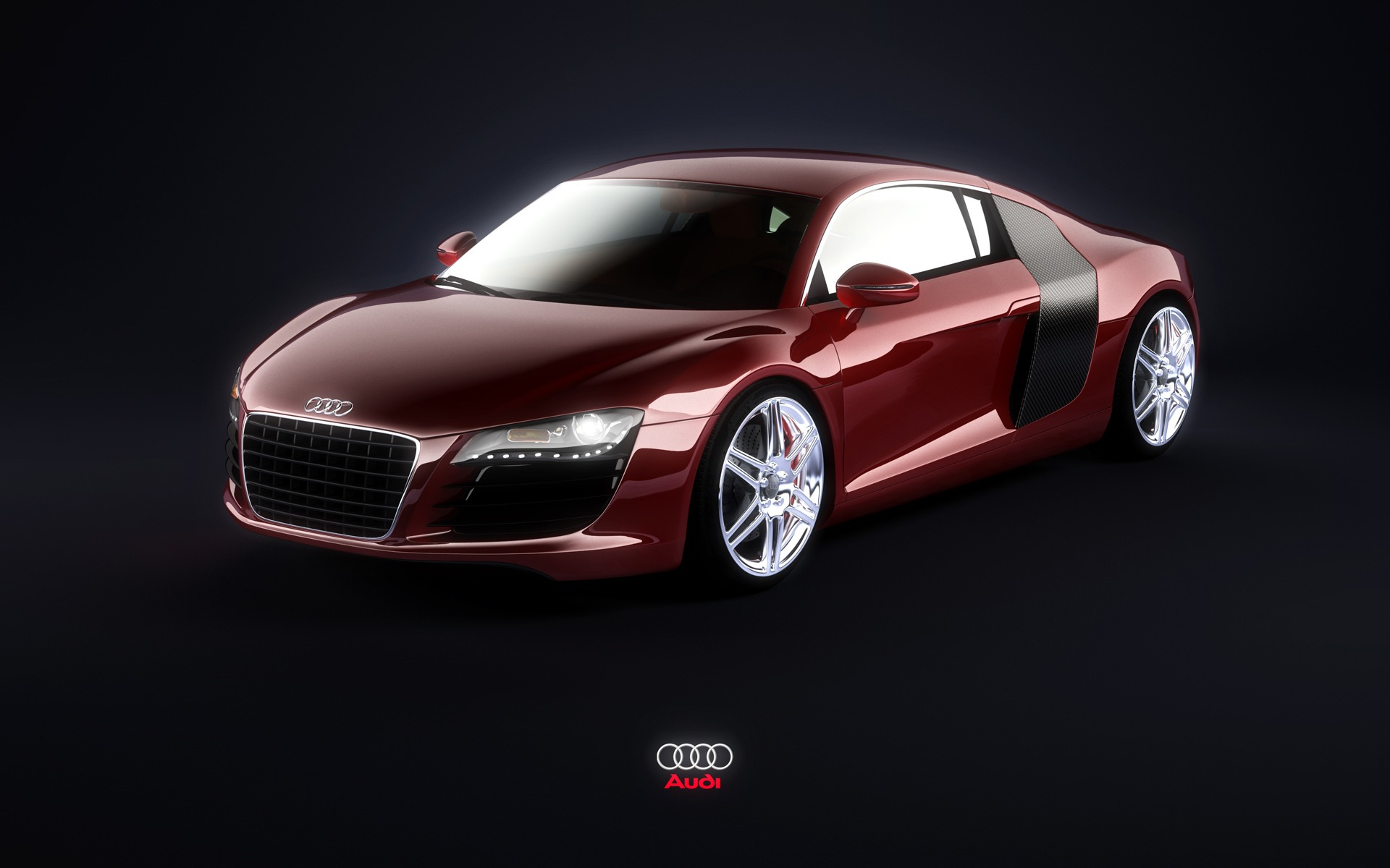 Red Audi R8 Wallpaper Audi Cars
