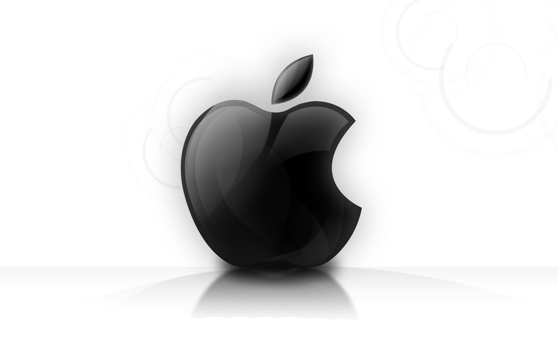 shining glassy apple logo wallpapers in jpg format for free download