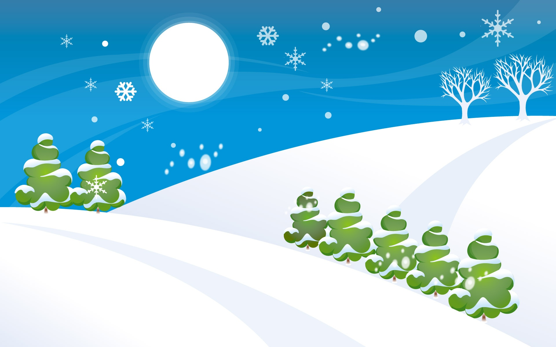 Fantastic Wallpaper Mountain Cartoon - simple_christmas_snow_world_5073  Image_948745.jpg
