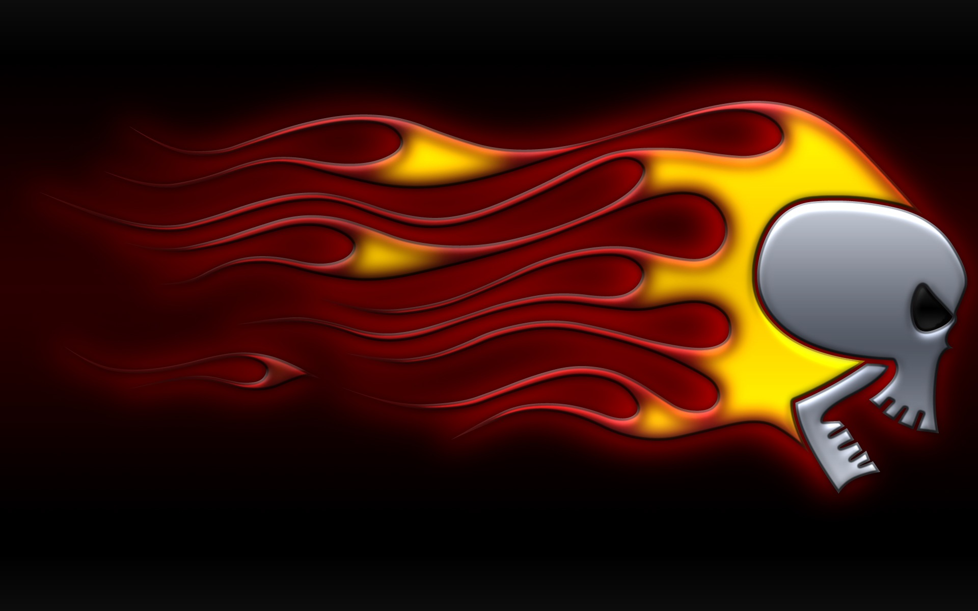 Skull on fire wallpaper abstract 3d wallpapers in jpg format for skull on fire wallpaper abstract 3d wallpapers voltagebd Choice Image